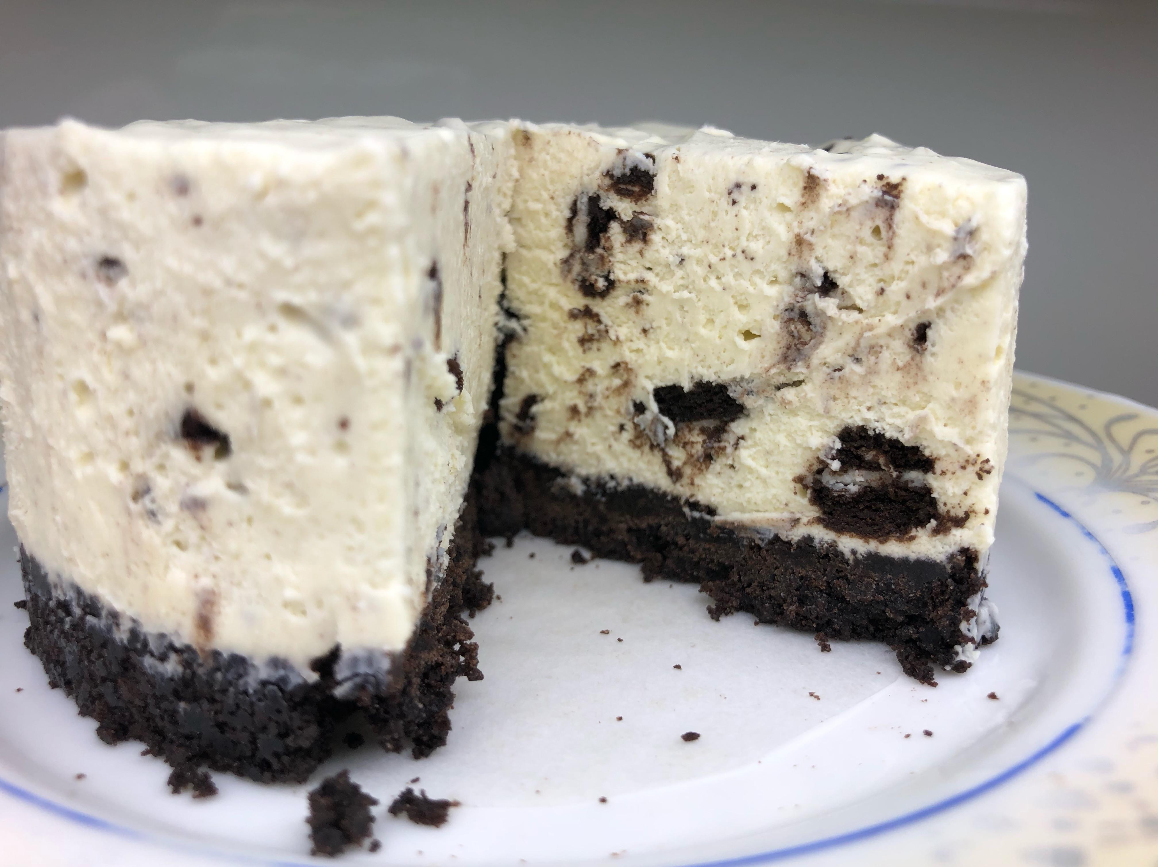oreo乳酪蛋糕(4吋、減糖版)