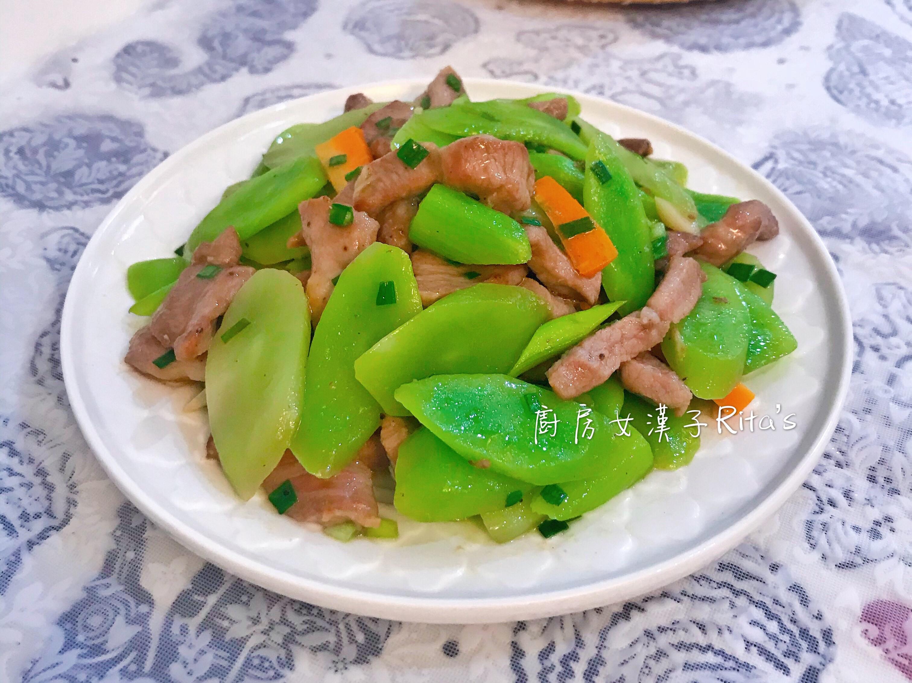 A菜心炒肉