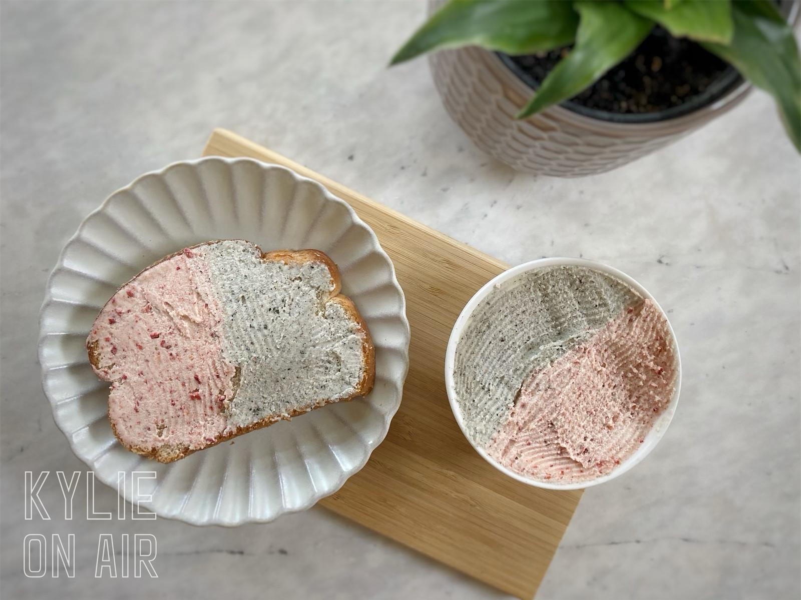自製草莓奶酥 芝麻奶酥抹醬