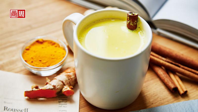 黃金薑黃牛奶