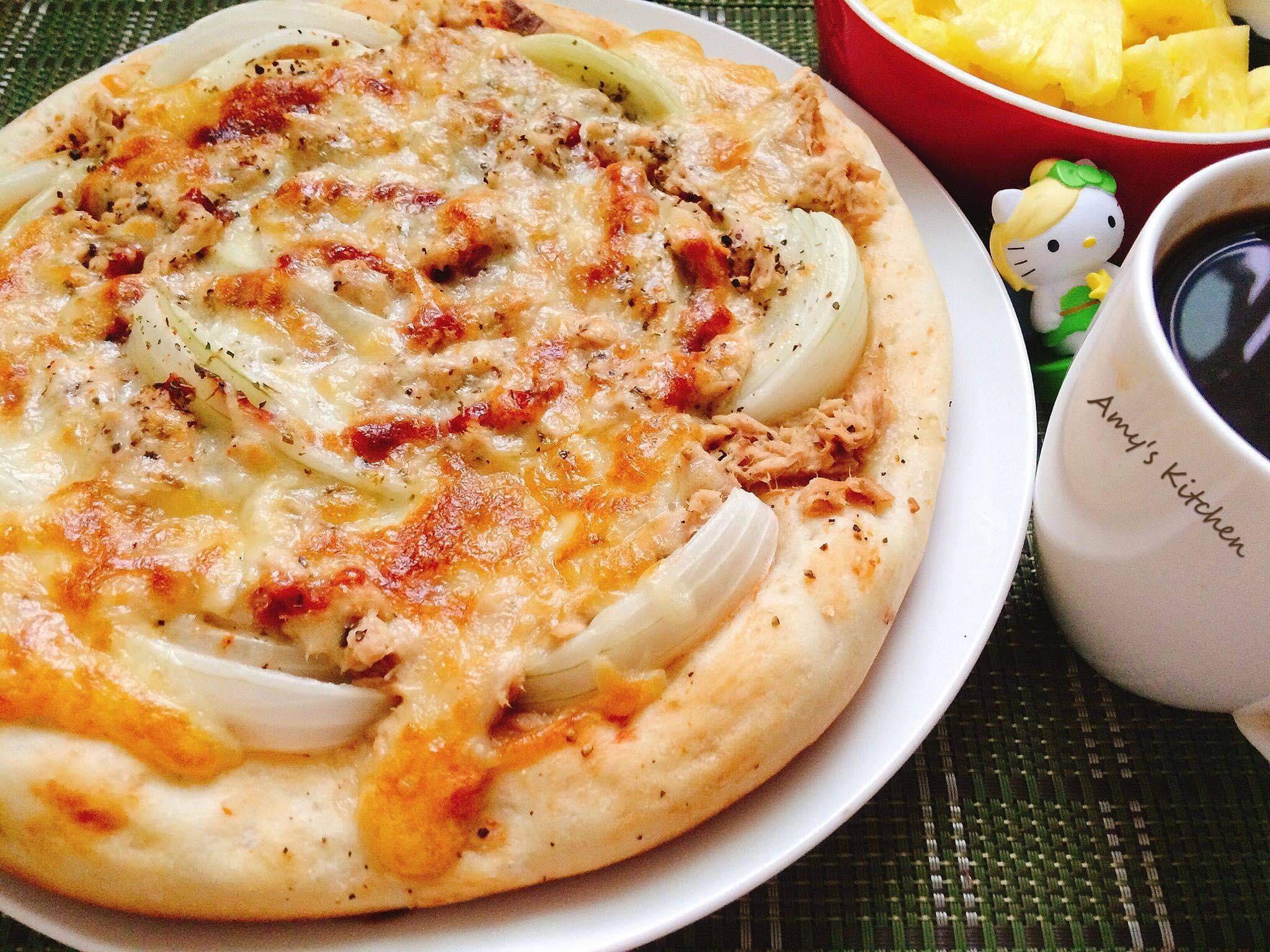 早午餐-自己做Pizza