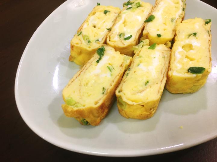 【家常菜】青蔥玉子燒(10分鐘上菜)