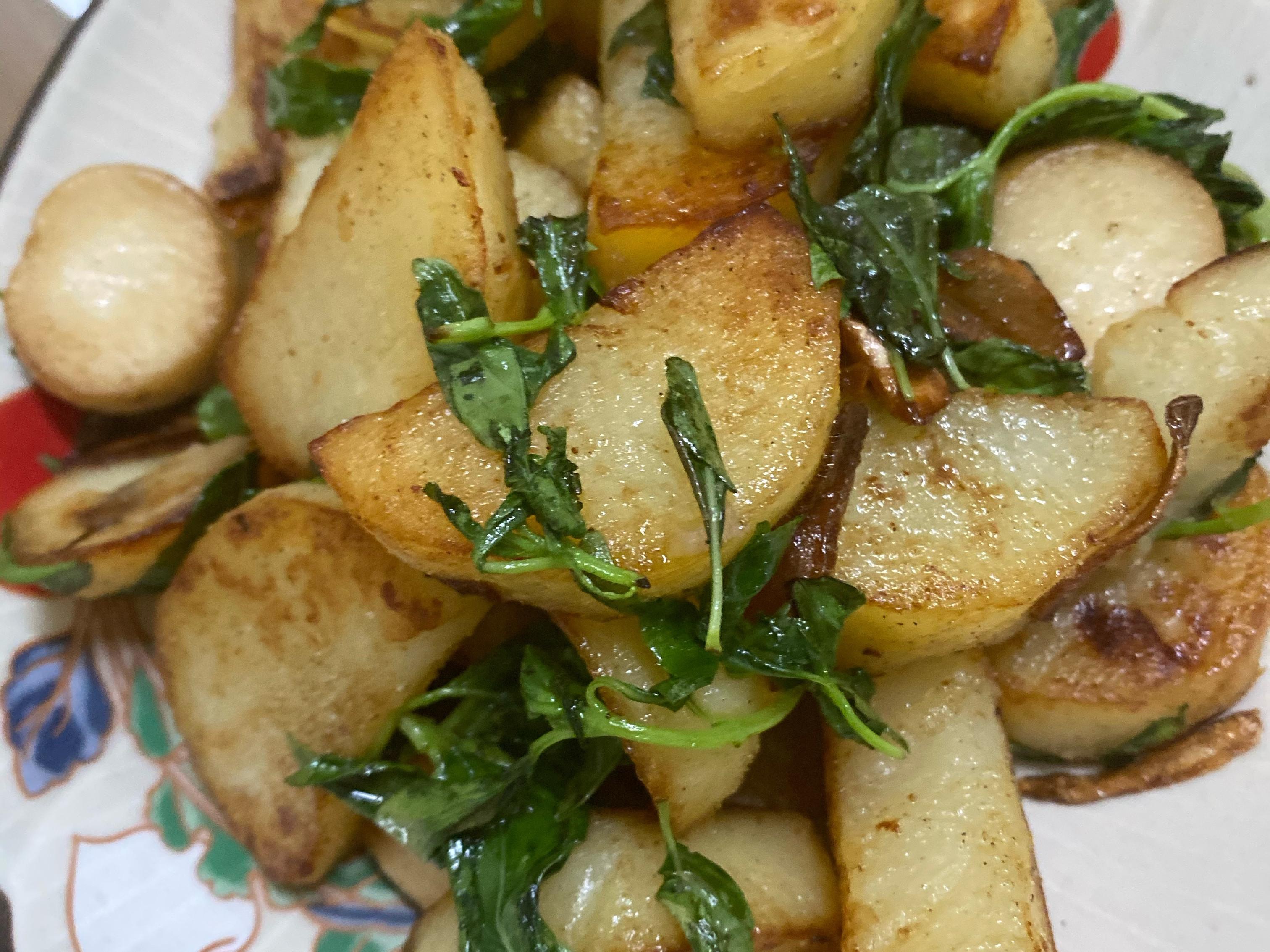 蒜片塔香馬鈴薯