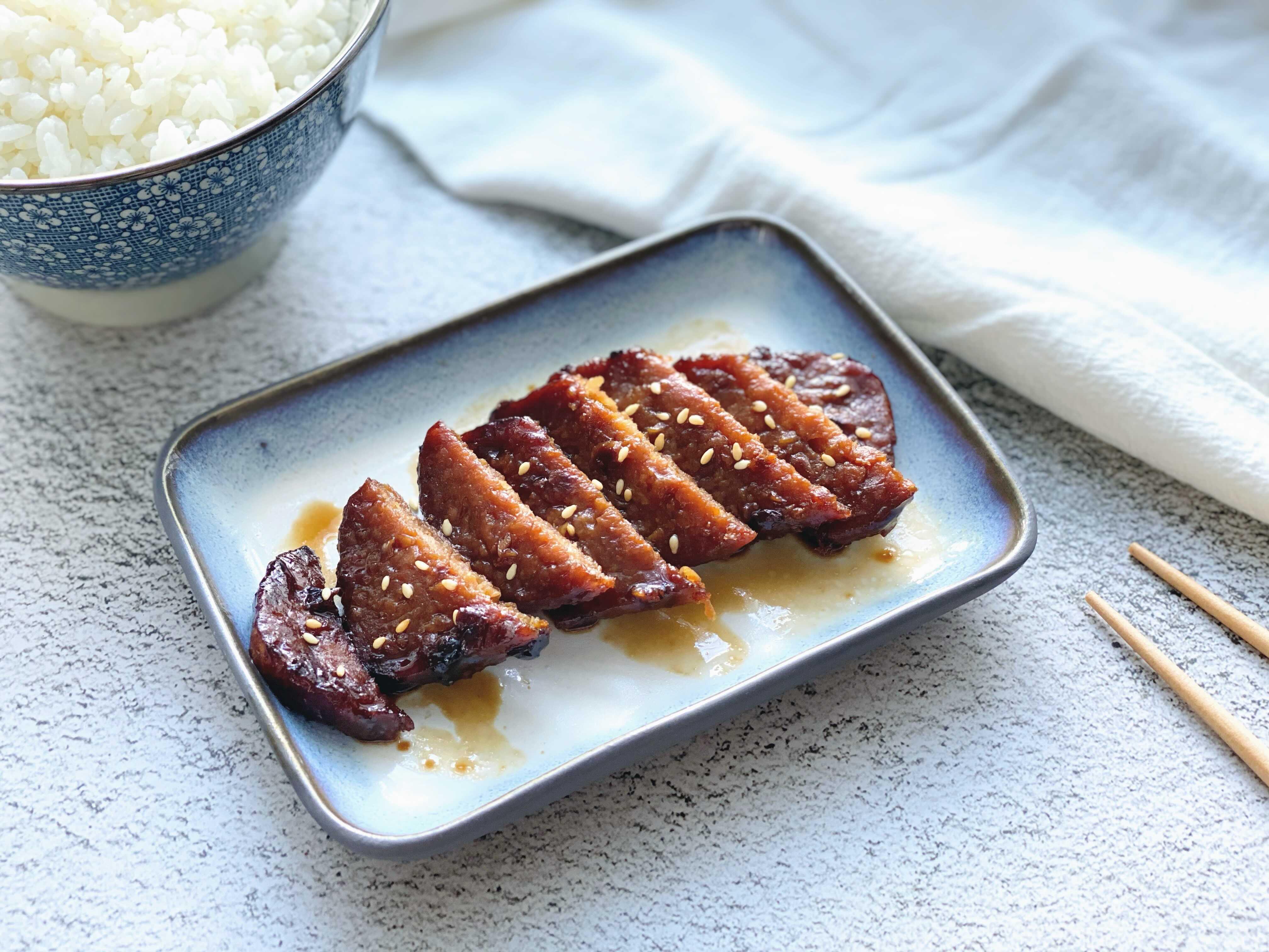 「蔬食」蜜汁燒肉-小烤箱也能輕鬆完成