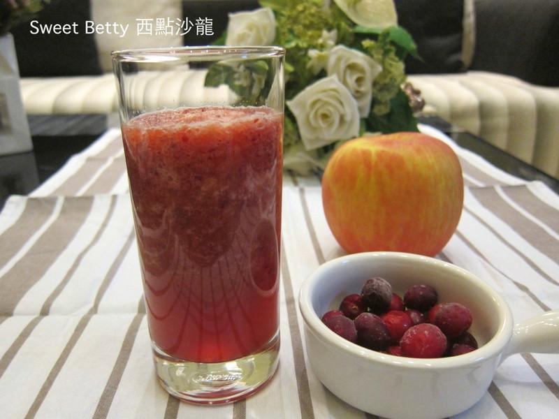 蔓越莓蘋果汁