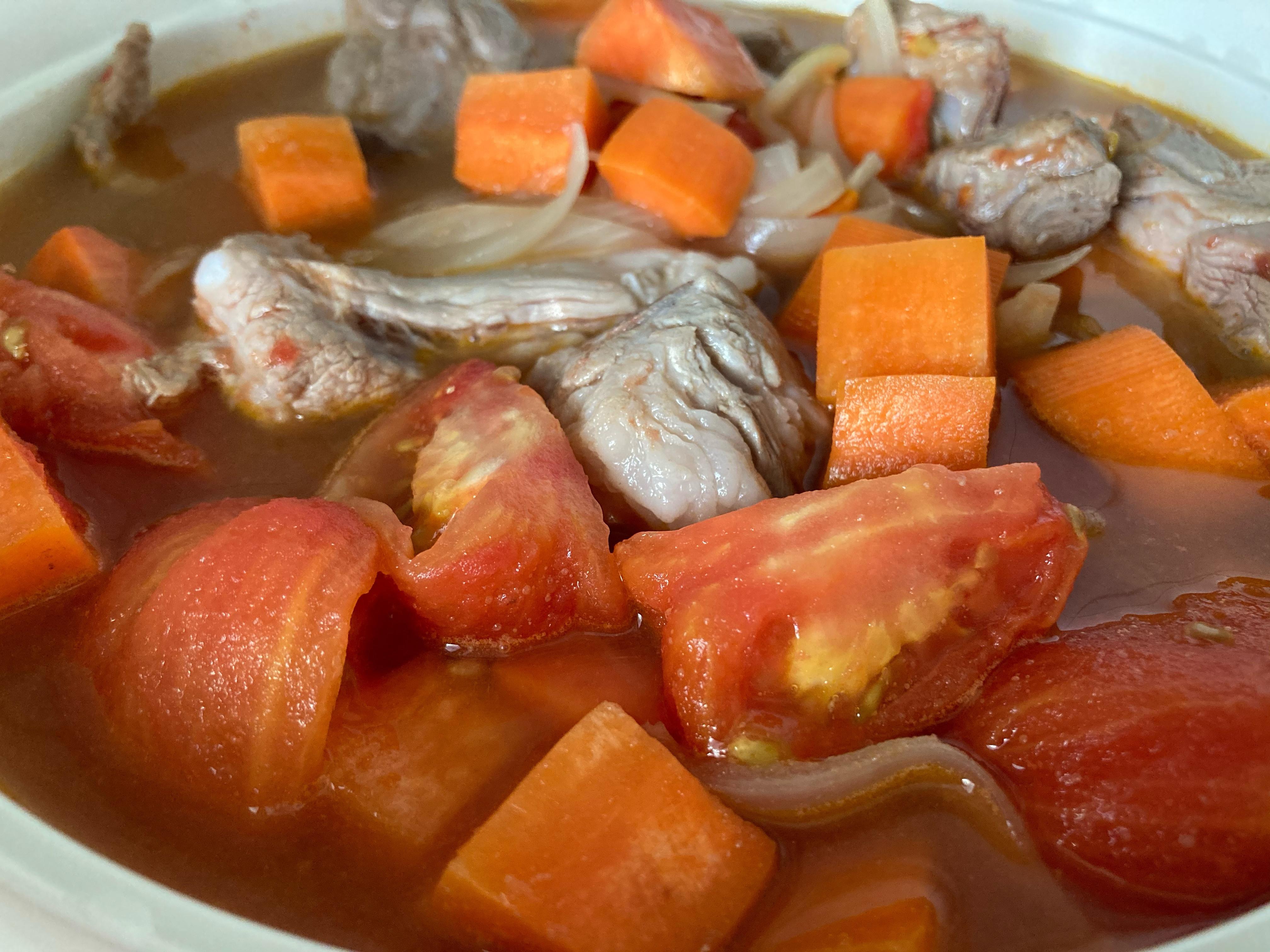 媽媽寶寶湯-番茄豬肉湯