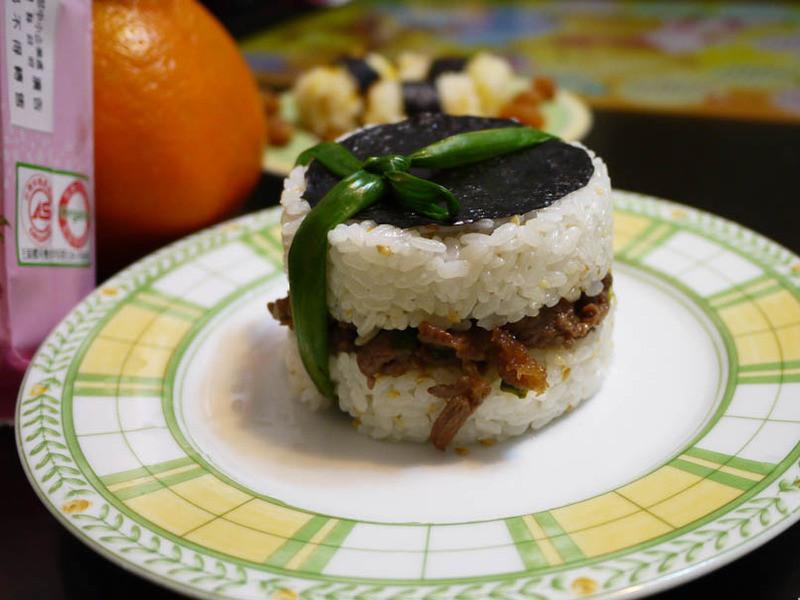 蔥明米飯糰