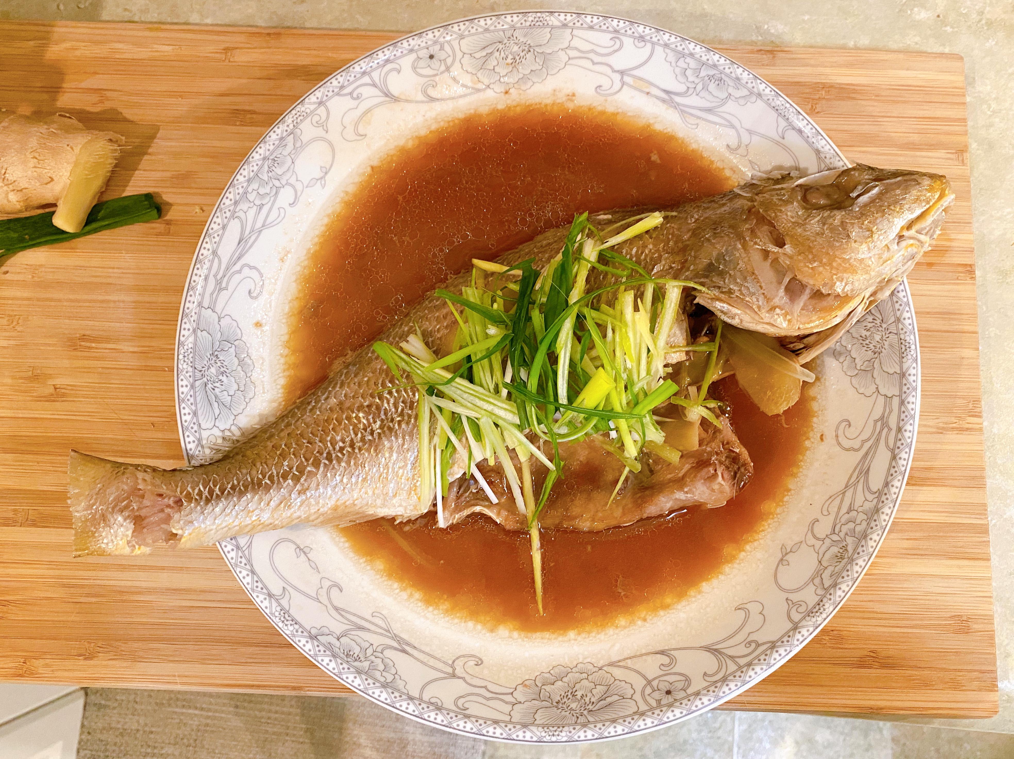 鮮甜夠味清蒸鮮魚
