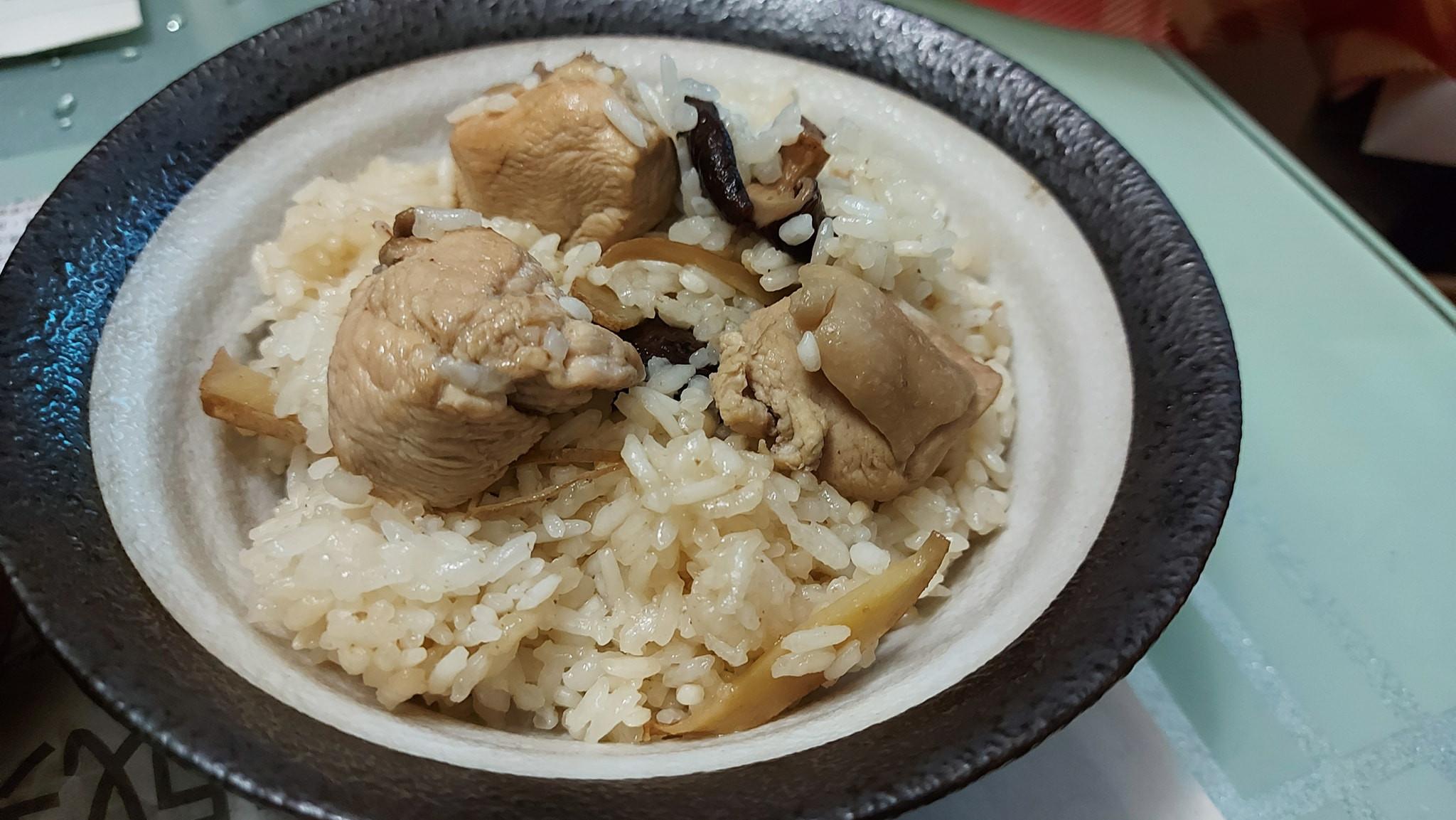 菇菇麻油雞飯