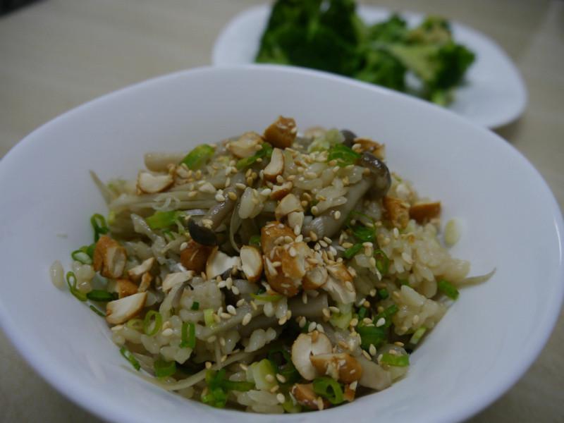 牛蒡野菇炊飯(2人份)