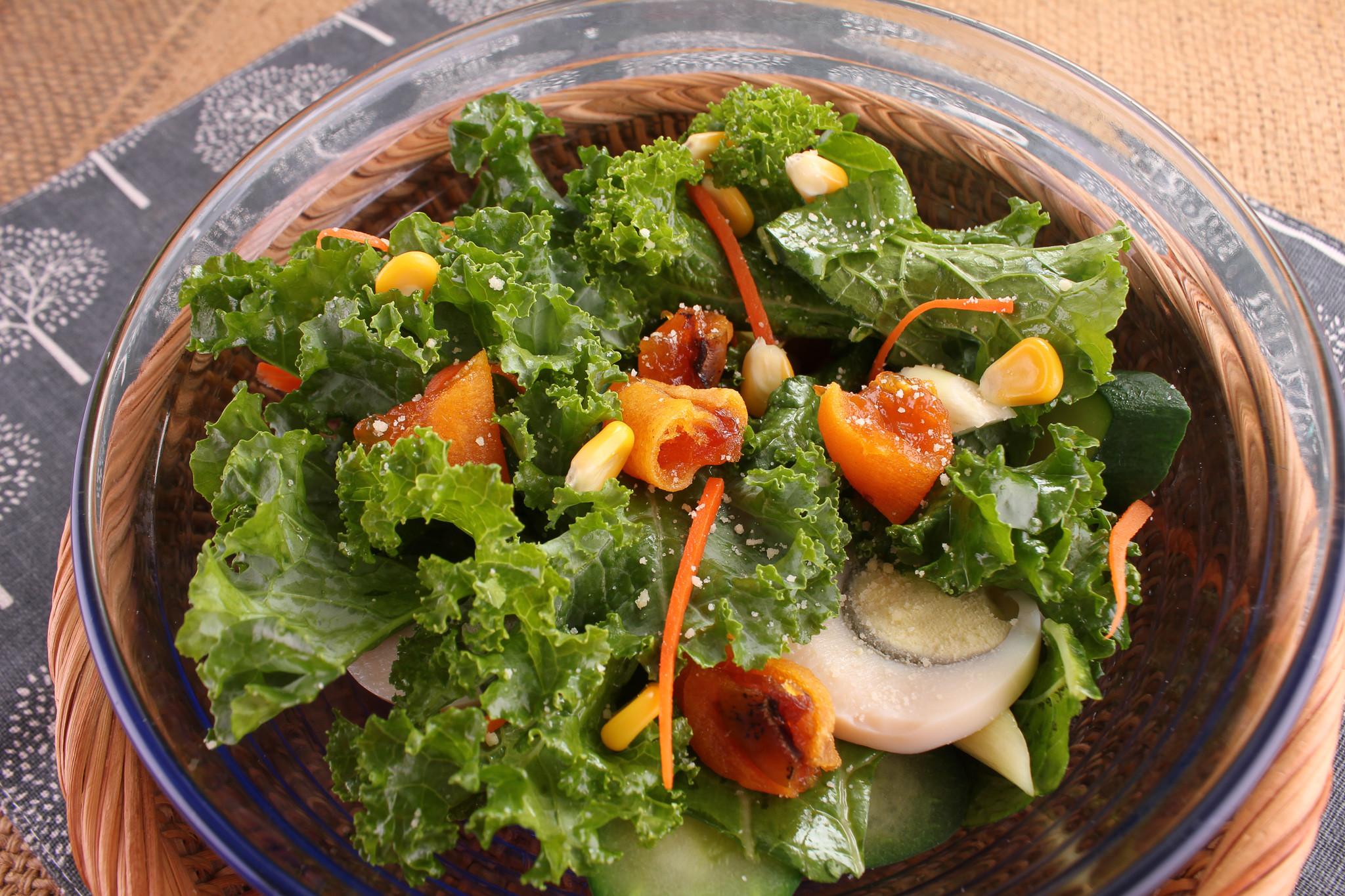 【厚生廚房】鮮蔬柿餅沙拉