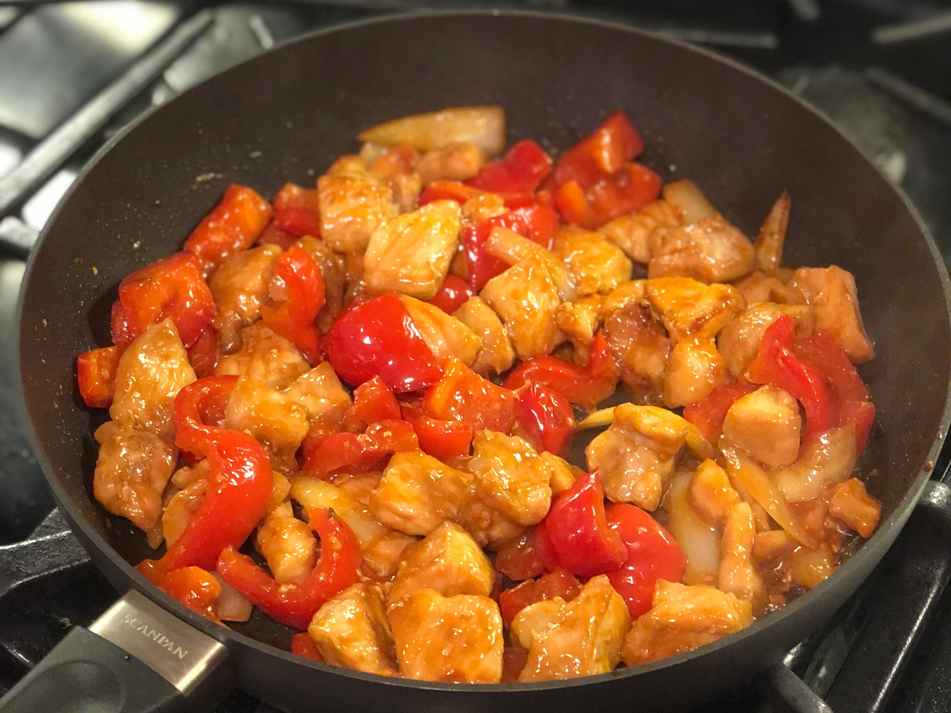 甜椒炒糖醋豬肉