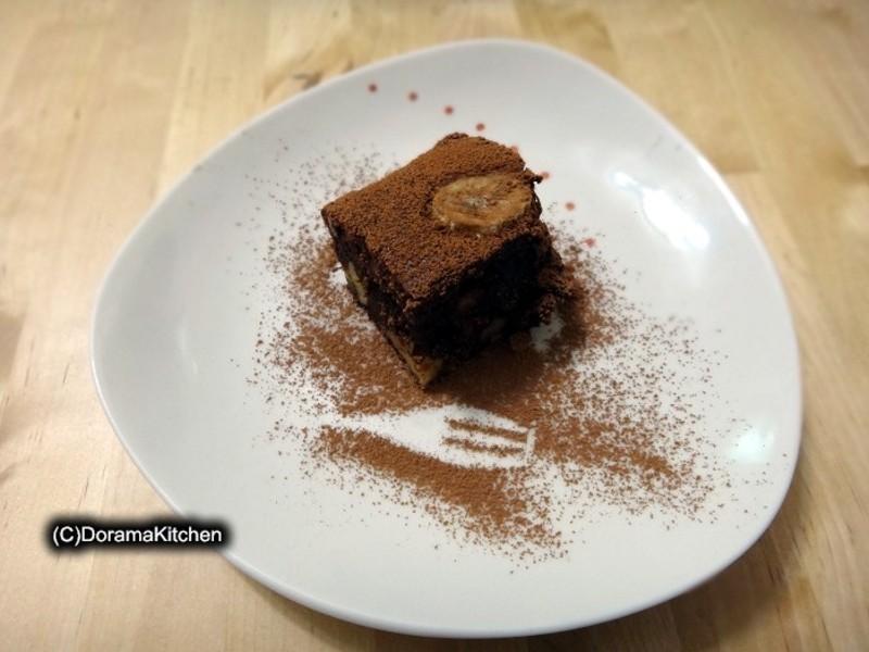【烘焙零失敗】香蕉巧克力蛋糕