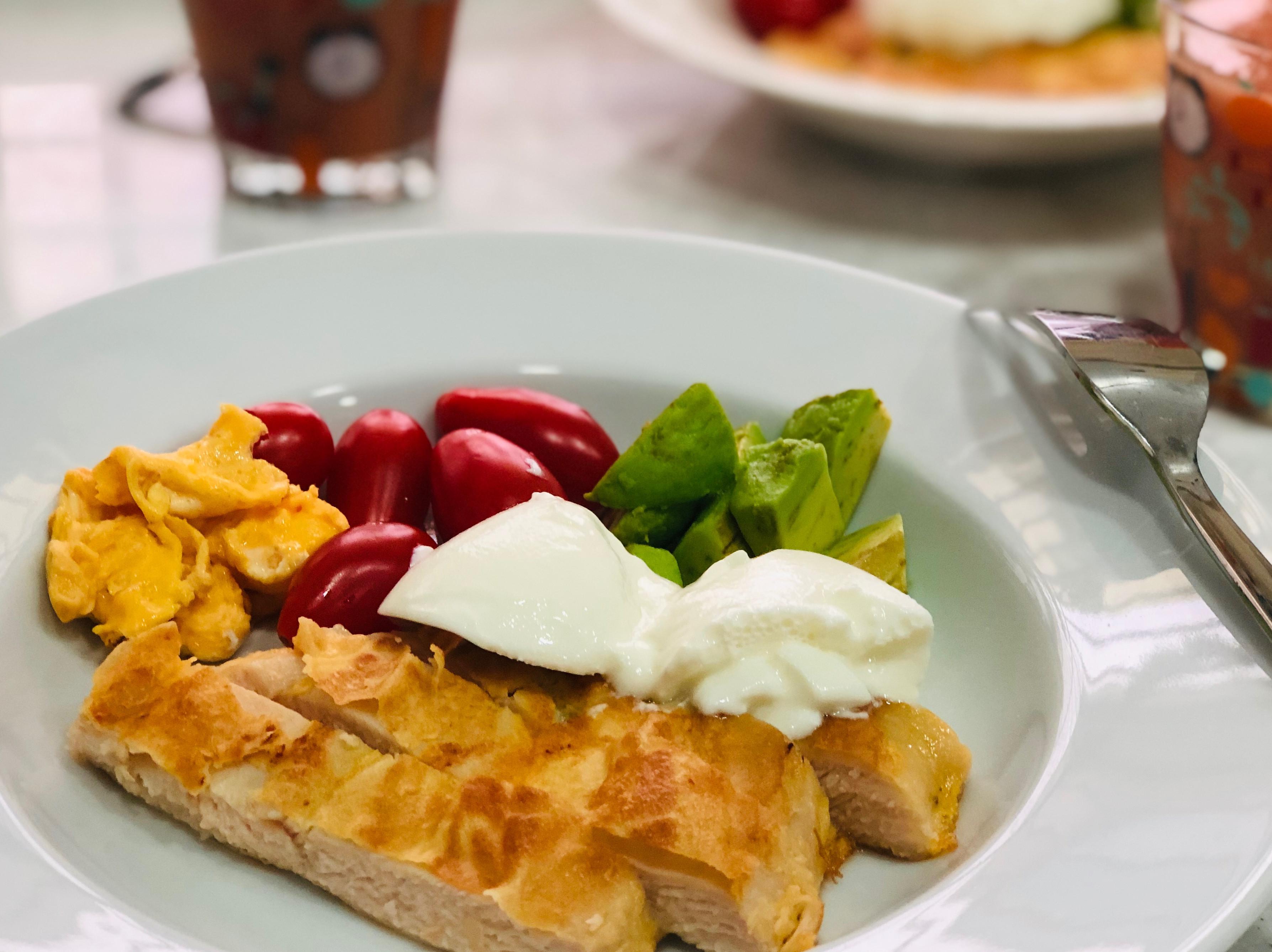 香煎黃金嫩雞胸 /假掰早餐