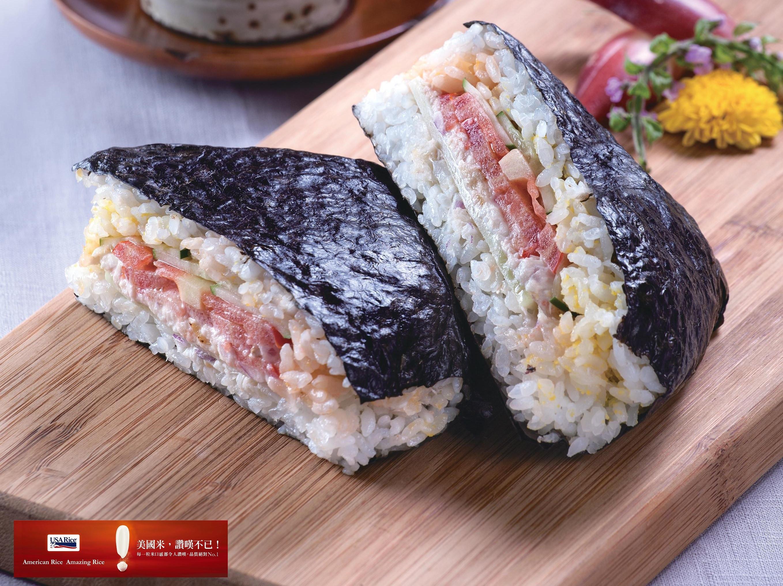 日式鮪魚三明治飯糰