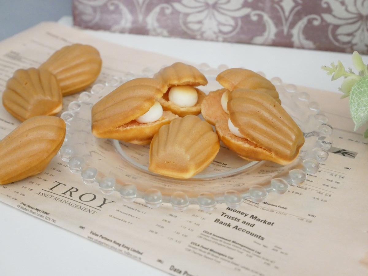 好夢幻「珍珠貝殼鬆餅」讓人少女心噴發♡