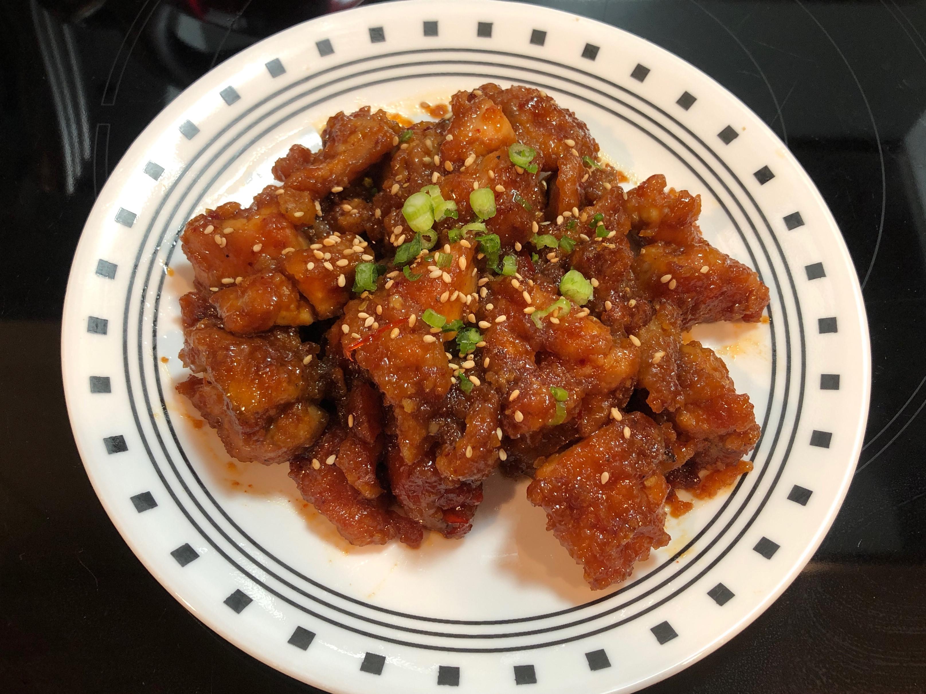 韓式炸雞塊 닭강정 (氣炸鍋)