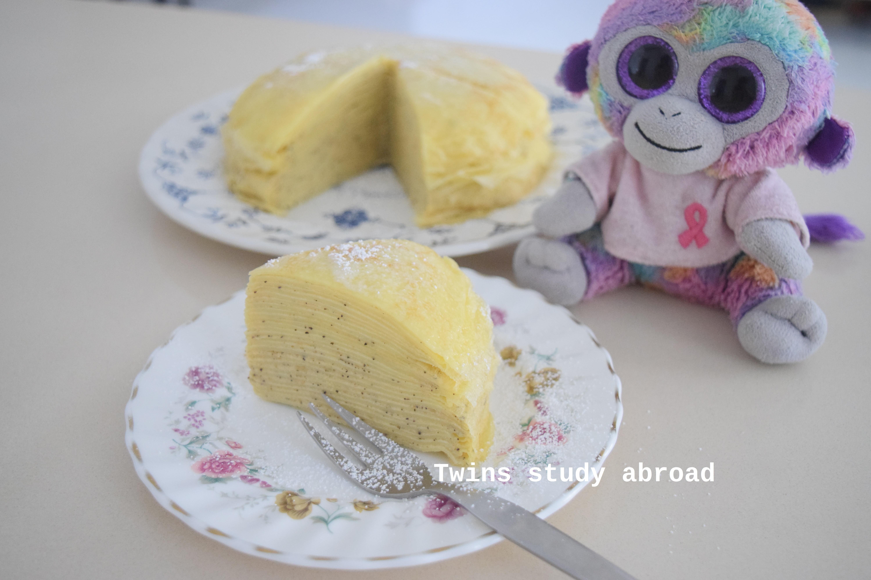 奶茶千層蛋糕