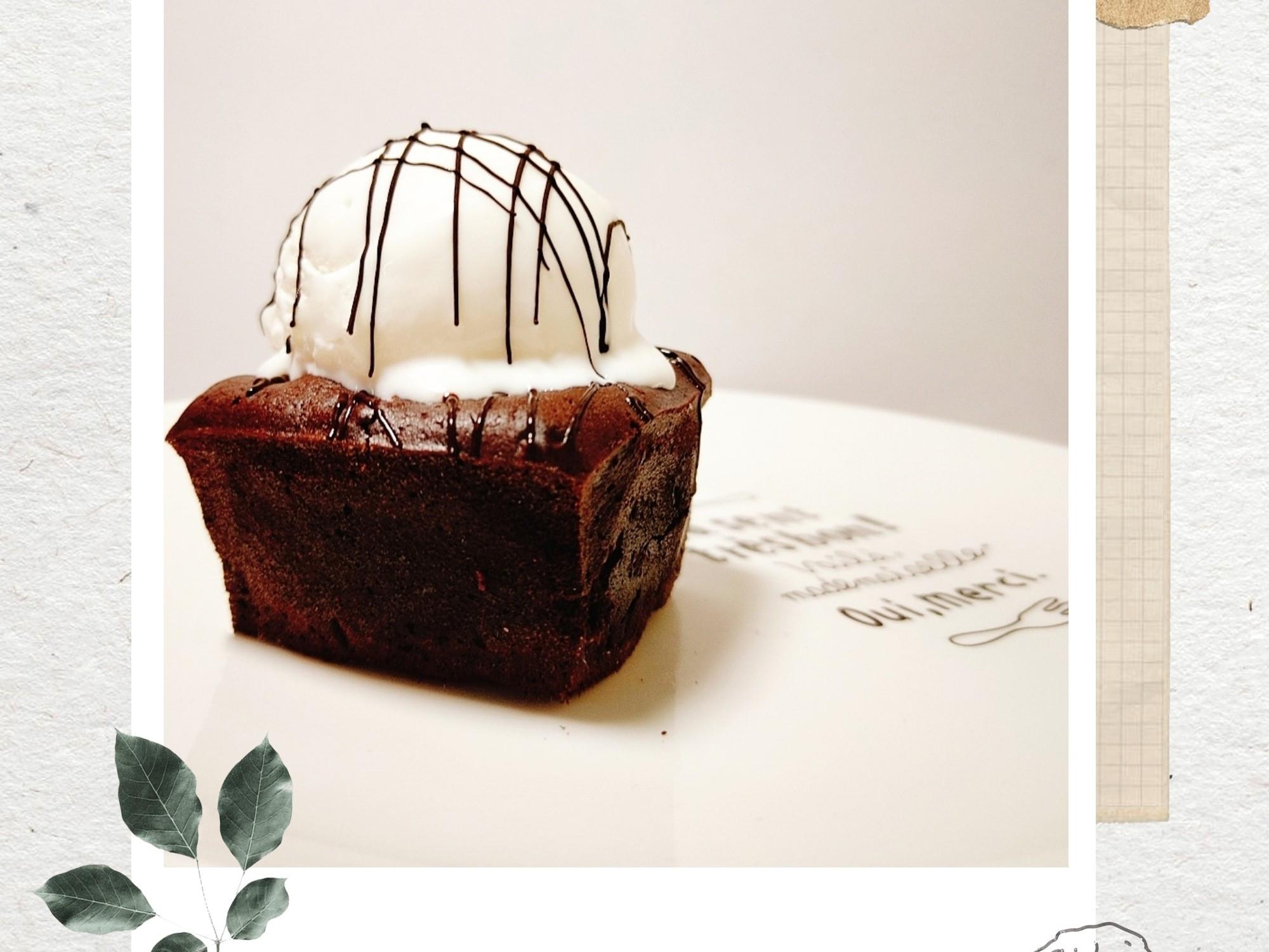 ❤️超級簡單-熔岩巧克力蛋糕