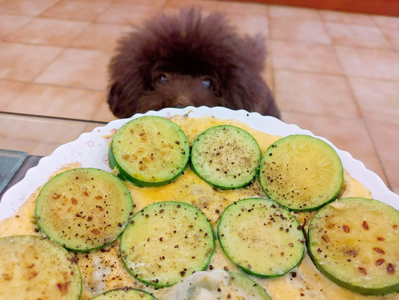 【簡單美味】櫛瓜煎蛋👍