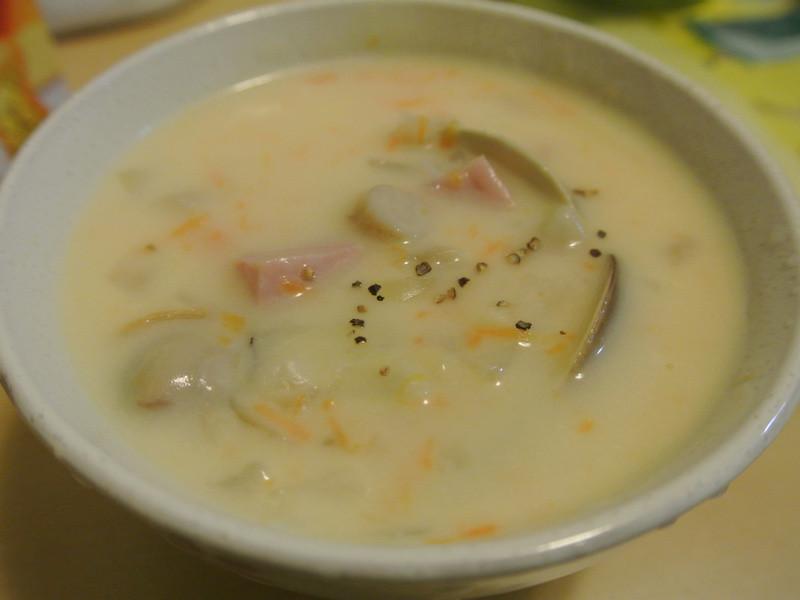 【博客】牛奶濃湯