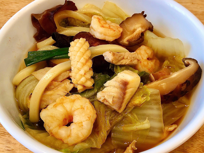 韓式炒碼麵 (一鍋到底)