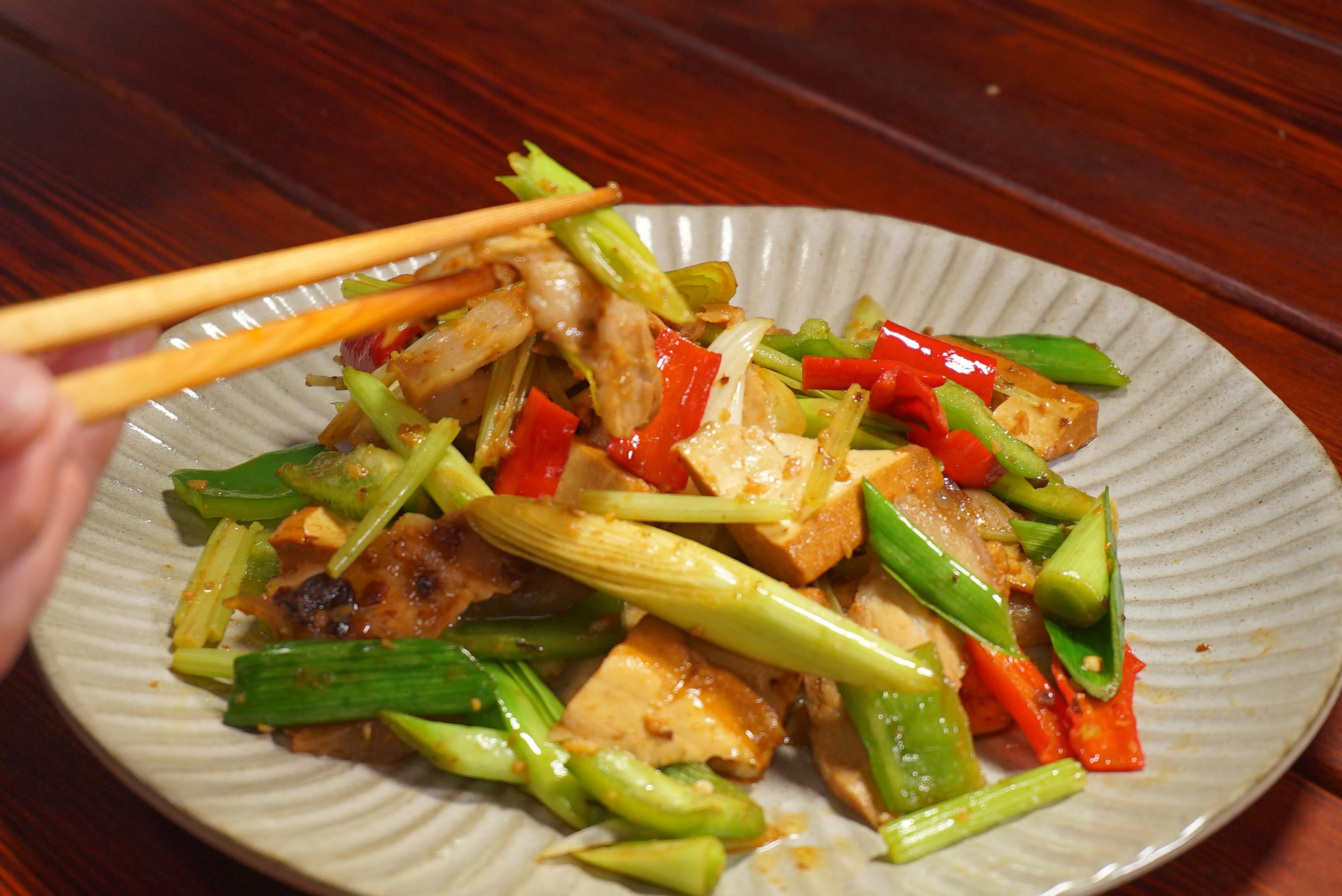 川菜回鍋肉-豆油伯金美好醬油