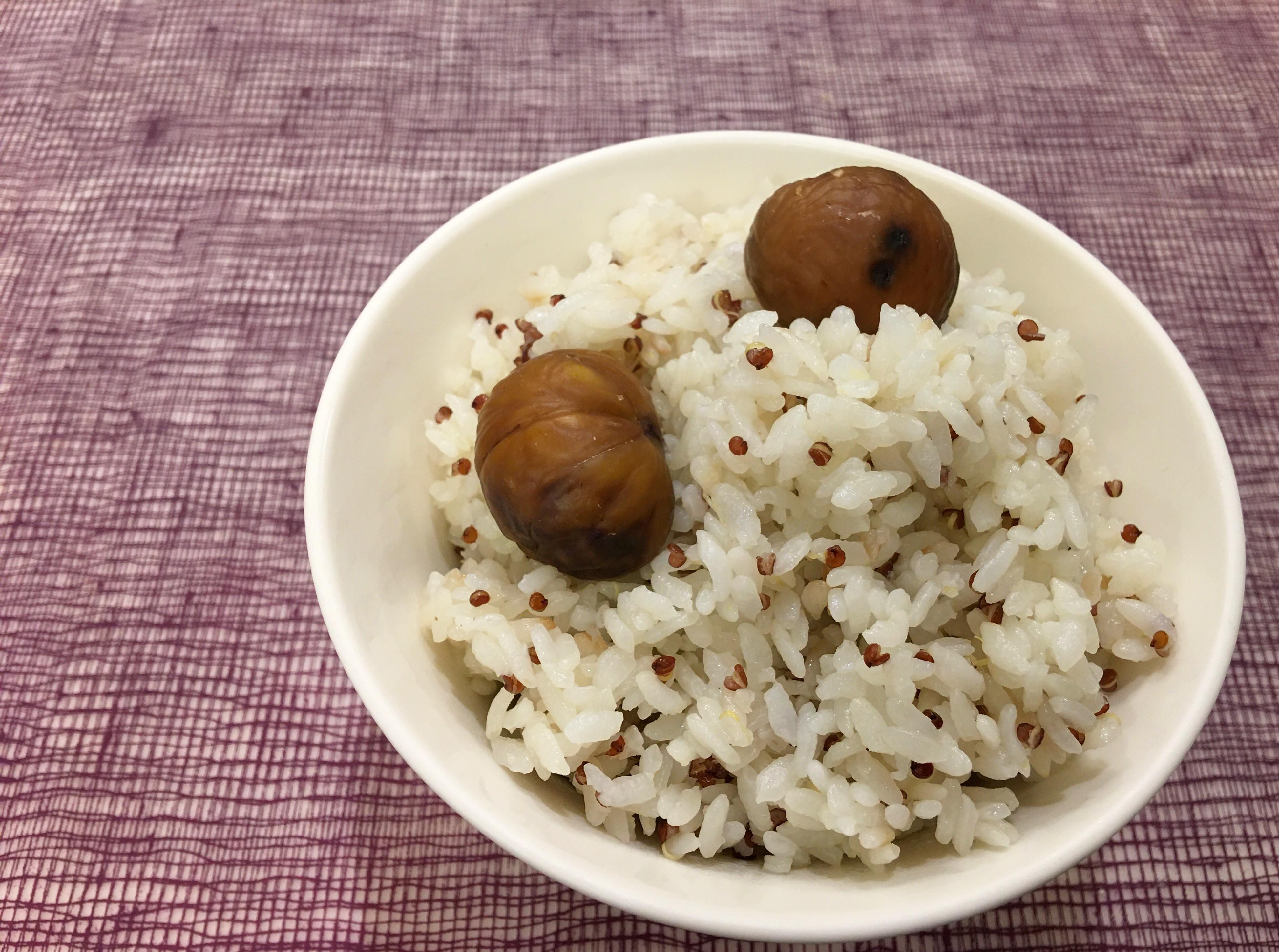 栗子藜麥飯