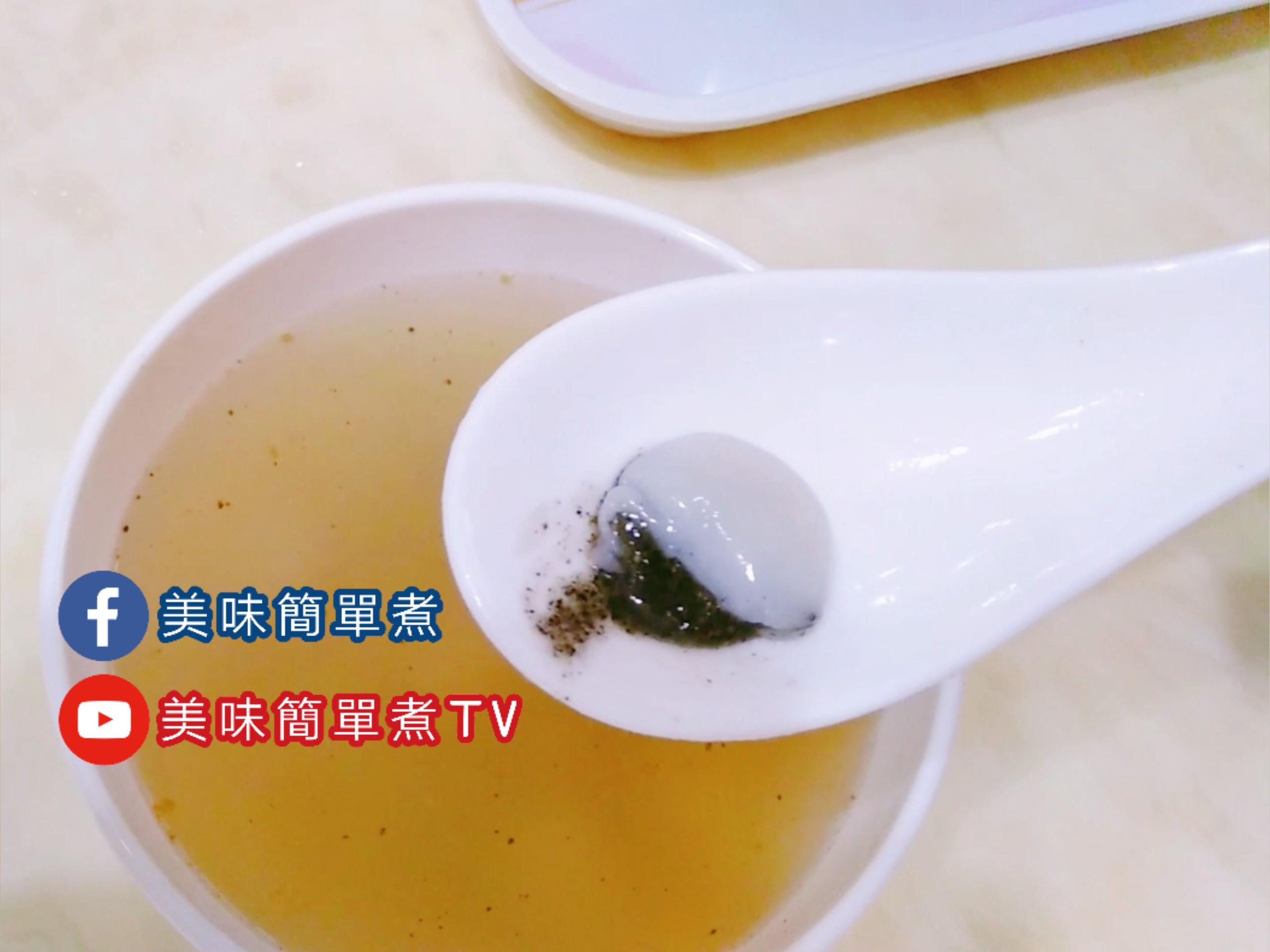 芝麻花生湯圓甜湯