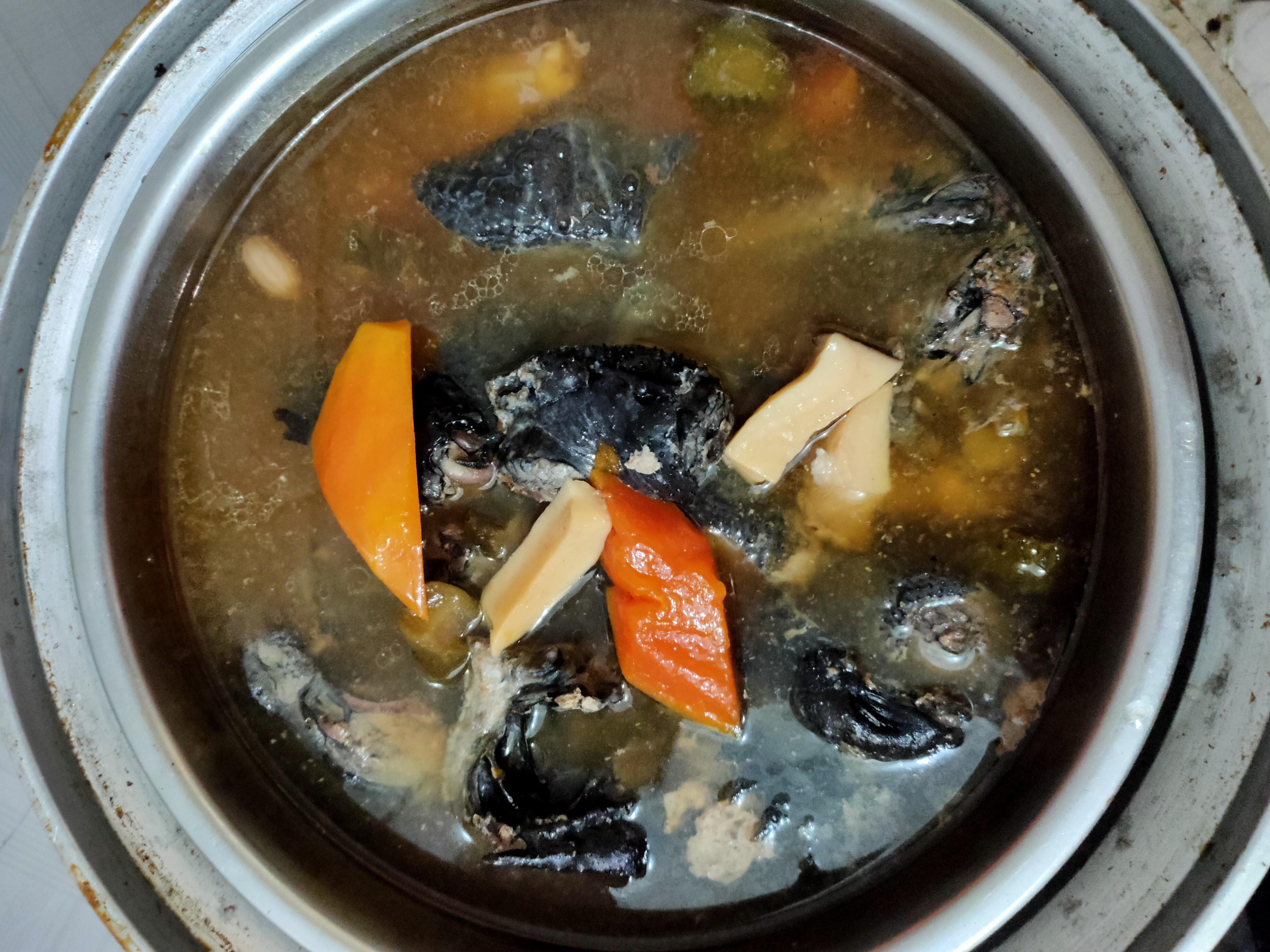 木瓜瓜仔雞湯