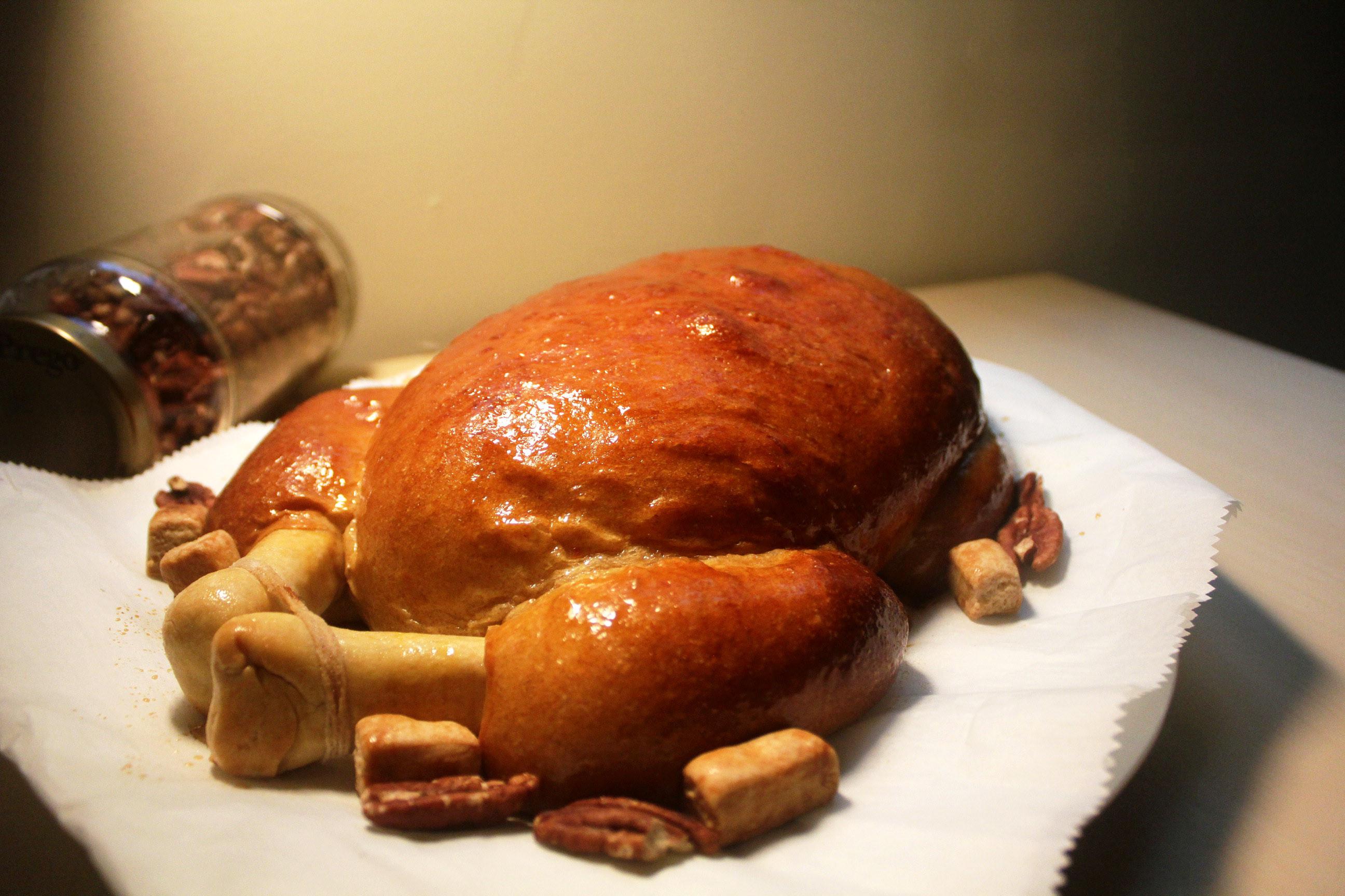 影片◆楓糖烤雞全麥麵包|楓糖胡桃乳酪餡