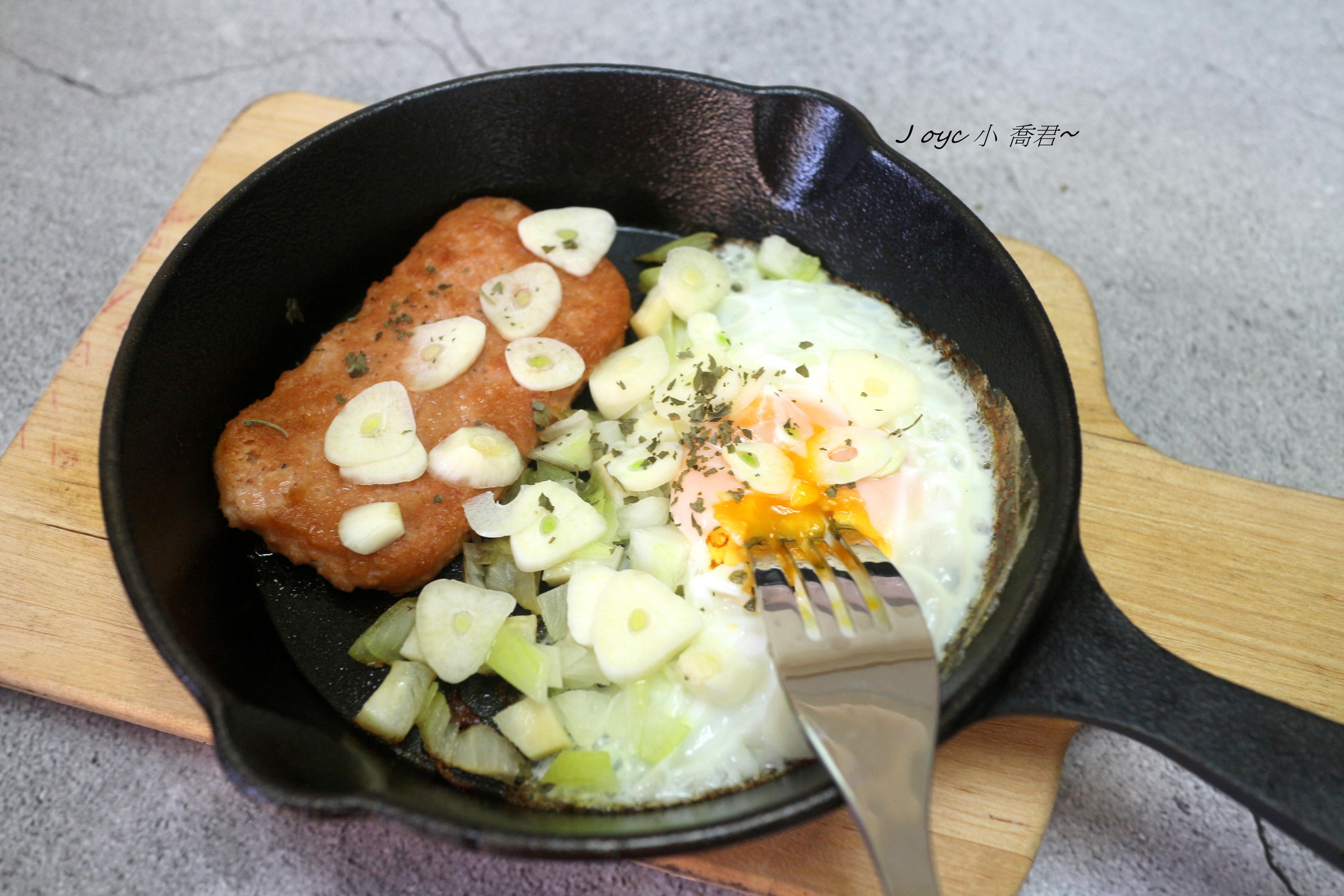 元氣早餐香蒜餐肉蛋
