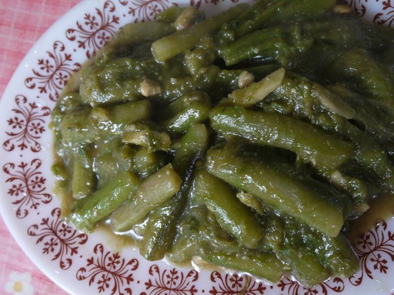 【台灣原味】豆醬炒芋梗