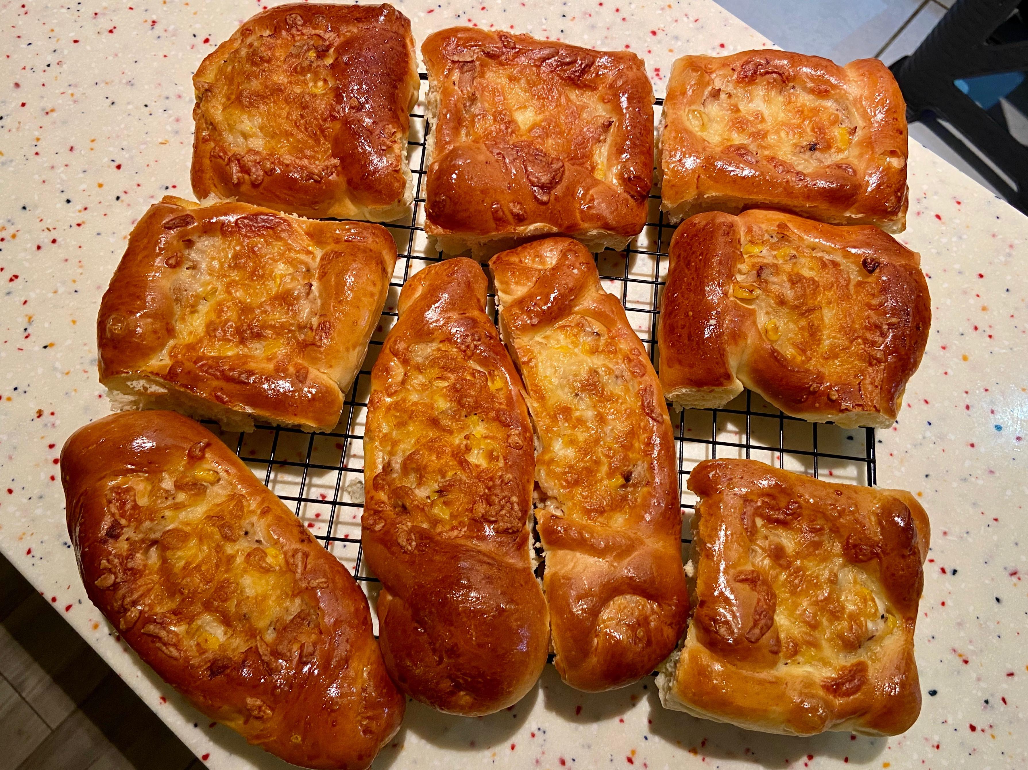 鮪魚玉米麵包🥖