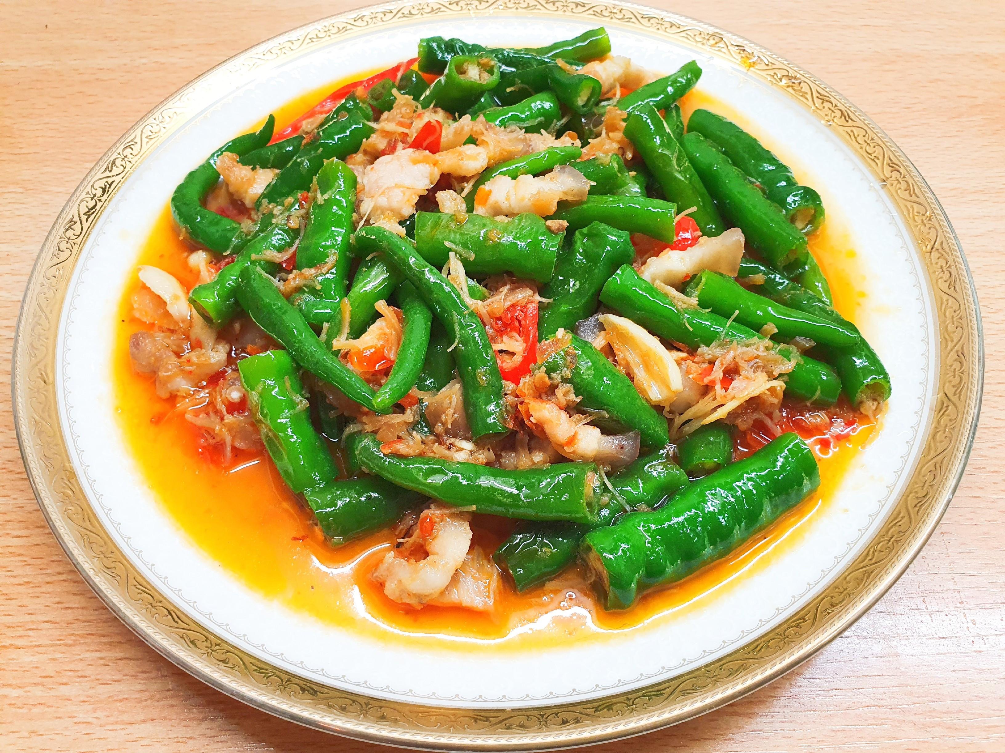 糯米椒炒XO醬