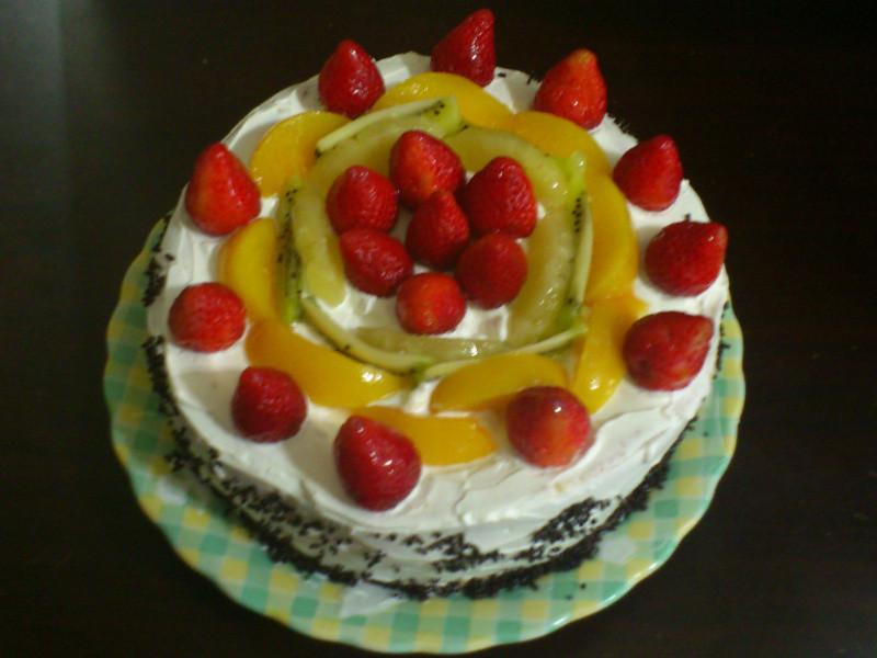 8吋水果蛋糕