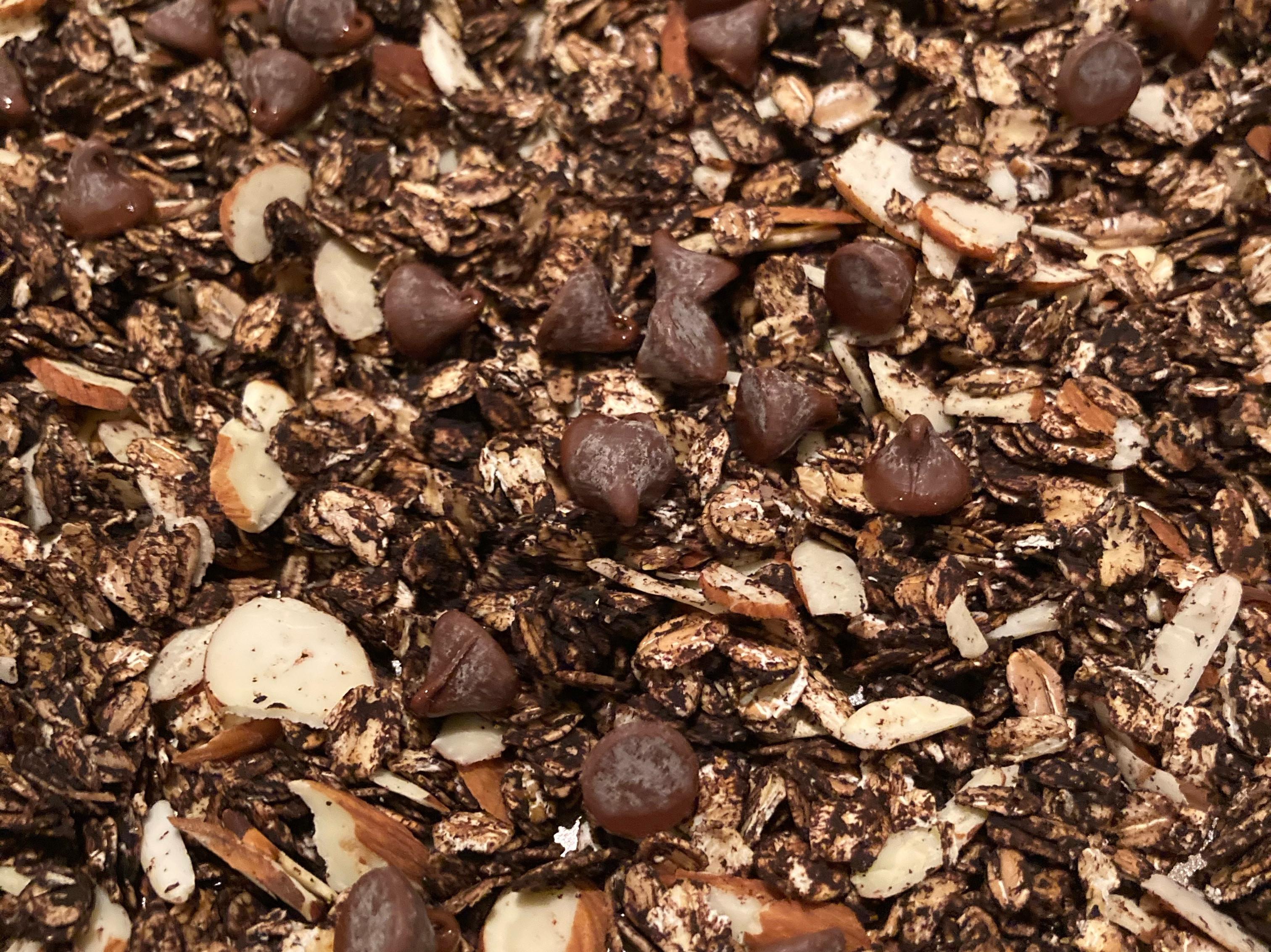 巧克力脆燕麥片granola