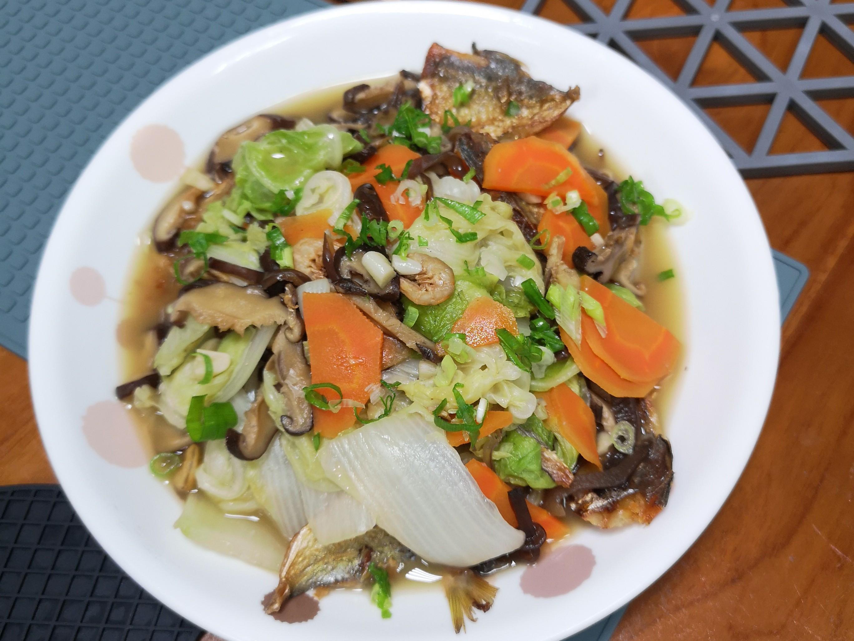 扁魚白菜滷