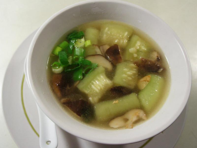 老丹~健康蔬果多_香菇絲瓜湯