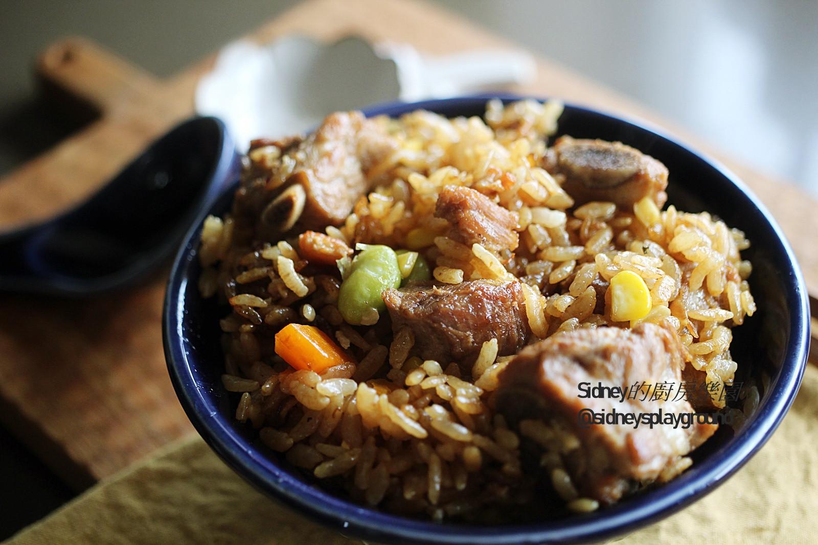 排骨燜飯(電子鍋料理)