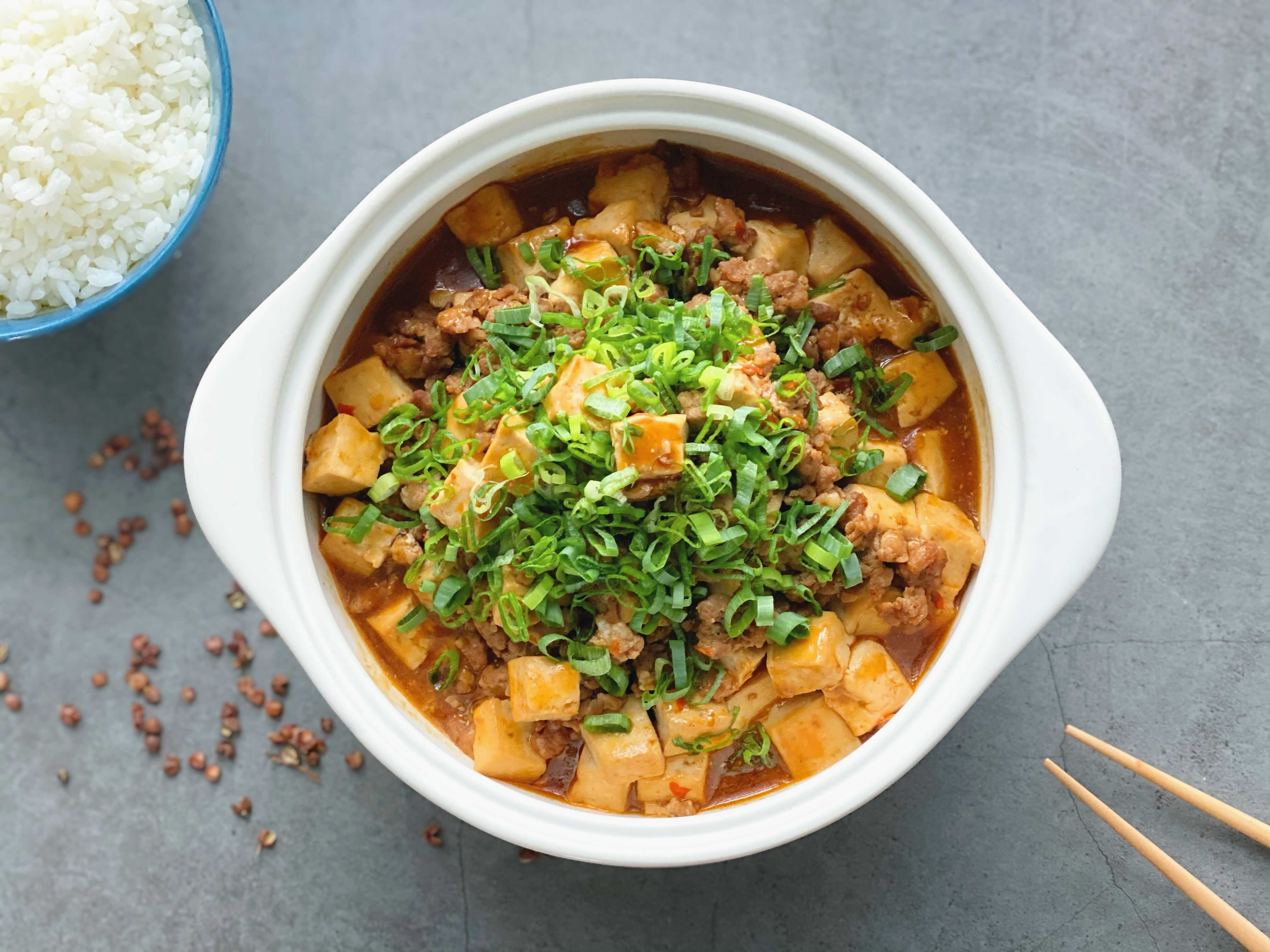 麻婆豆腐-超下飯的家常菜