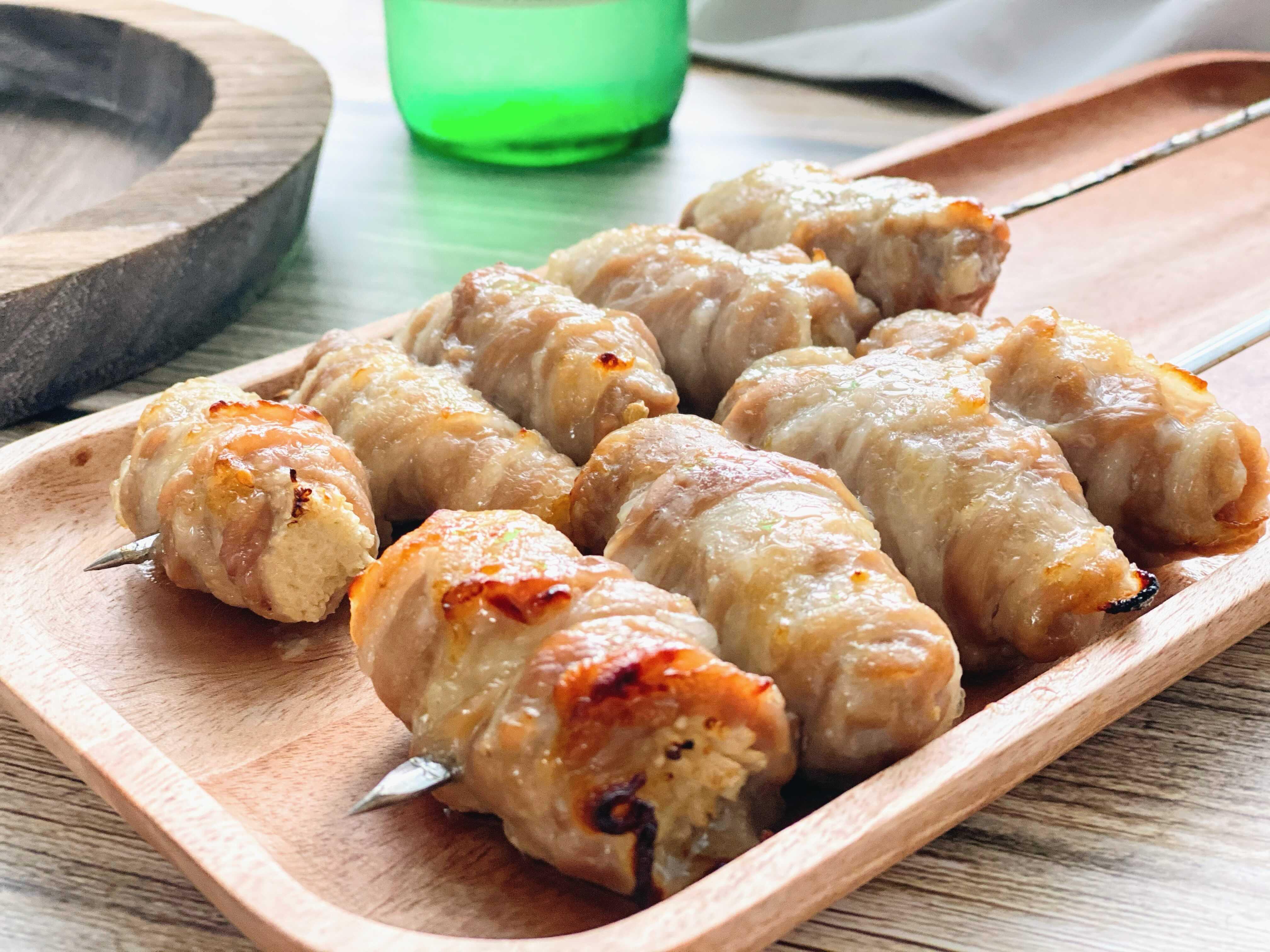 日式柚香豬肉卷