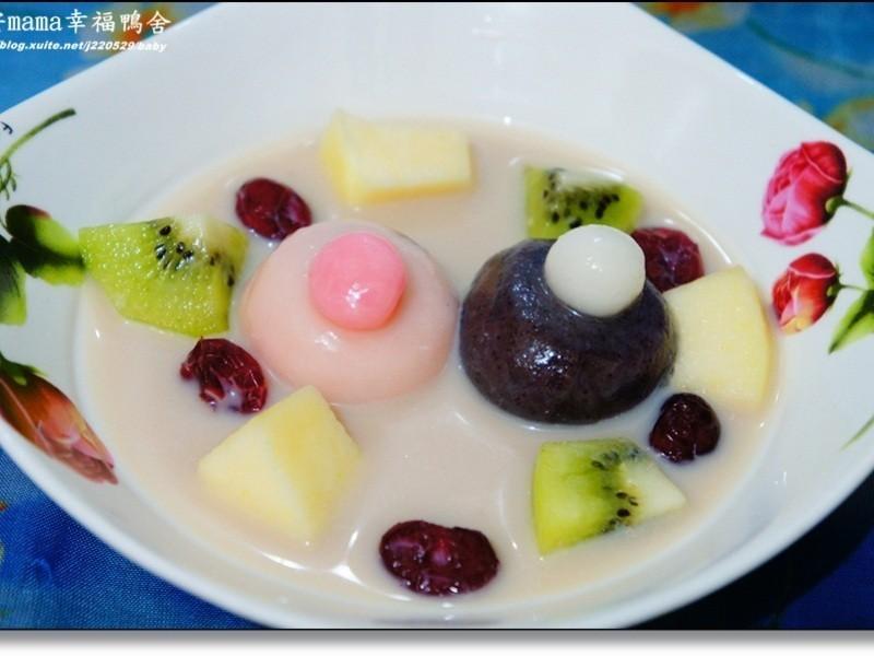 水果湯圓撞奶