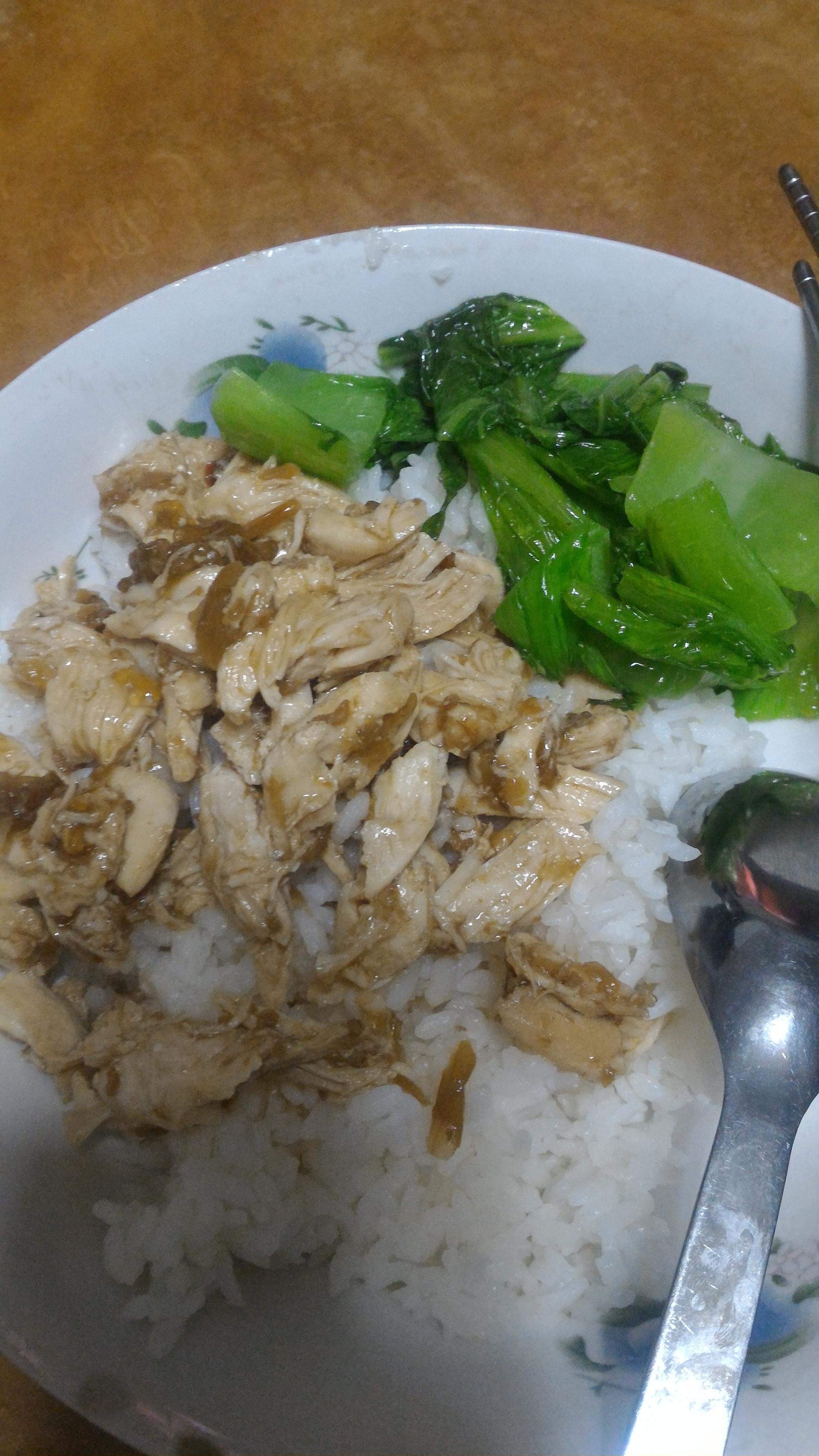 芥菜雞絲飯