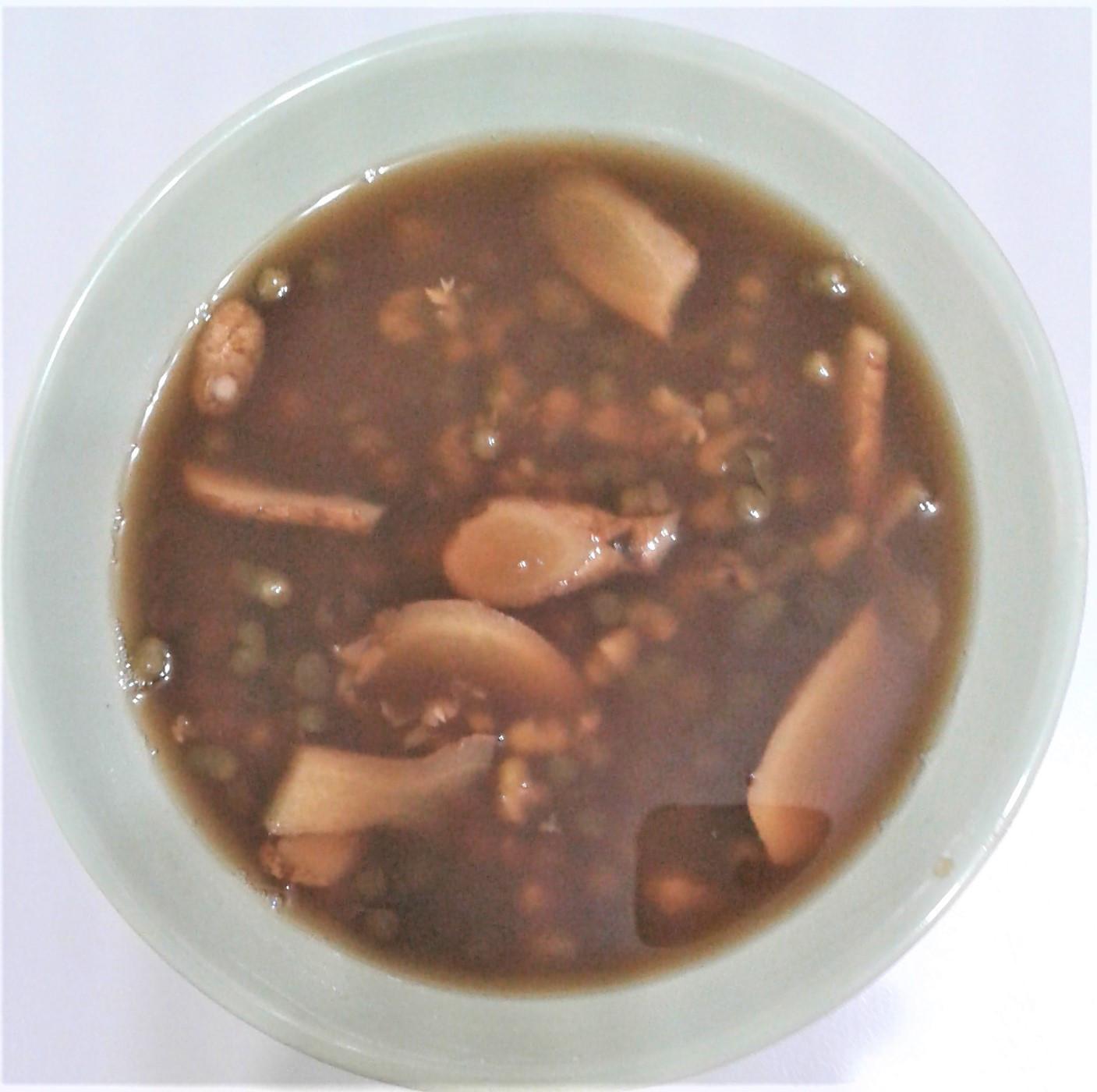 老薑紅糖綠豆湯