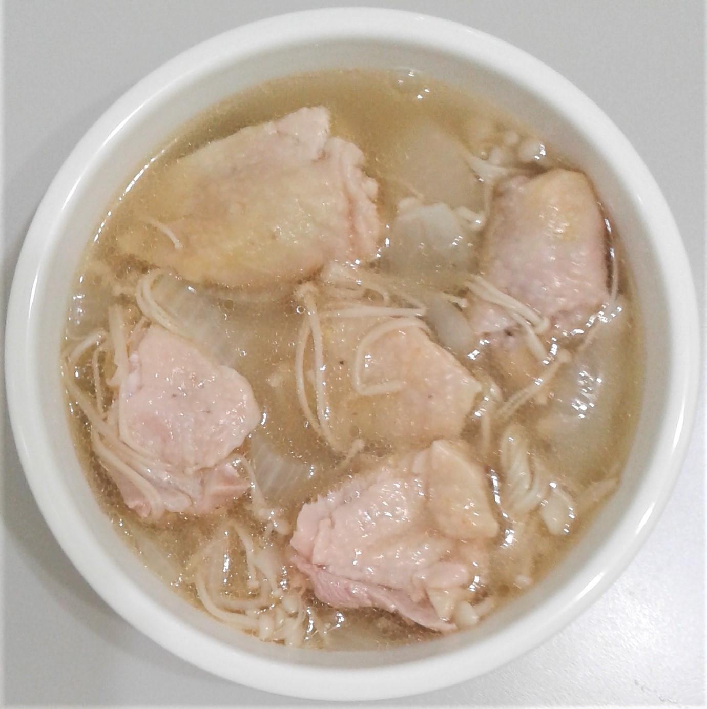 香濃洋蔥金針雞湯