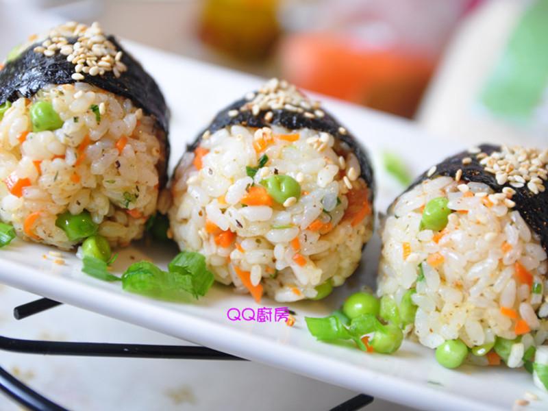 豌豆仁蒲燒鯛魚飯糰