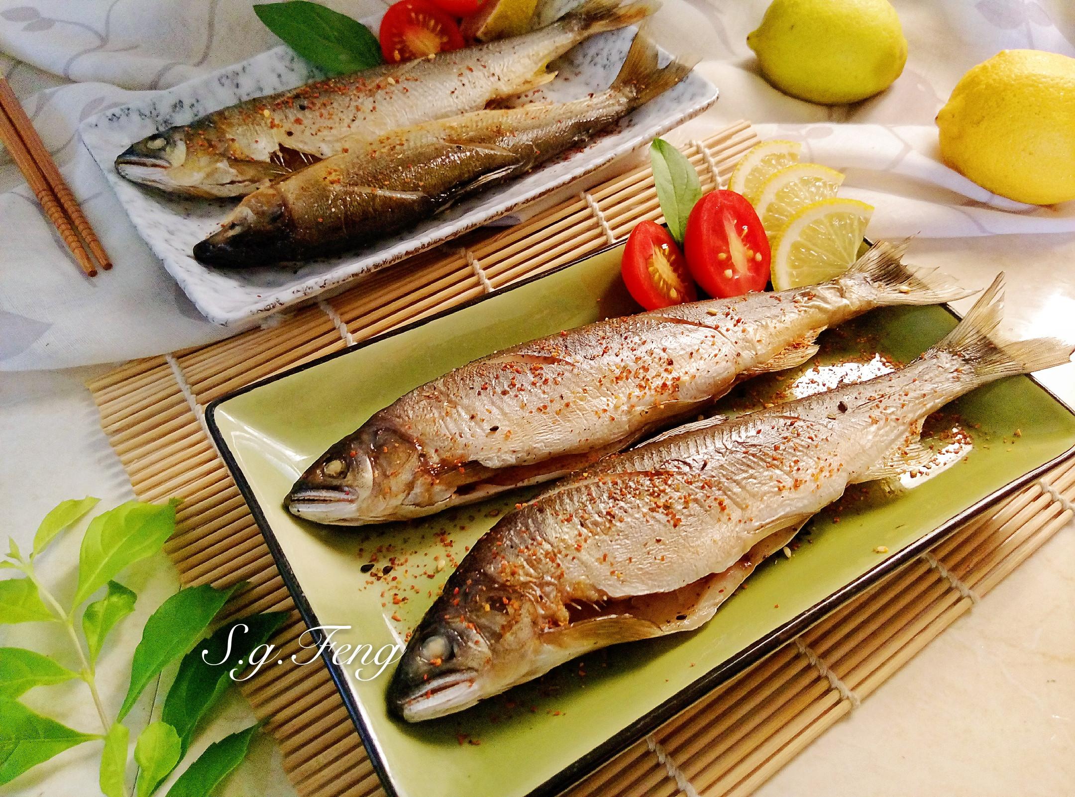 烤香魚(氣炸烤箱)