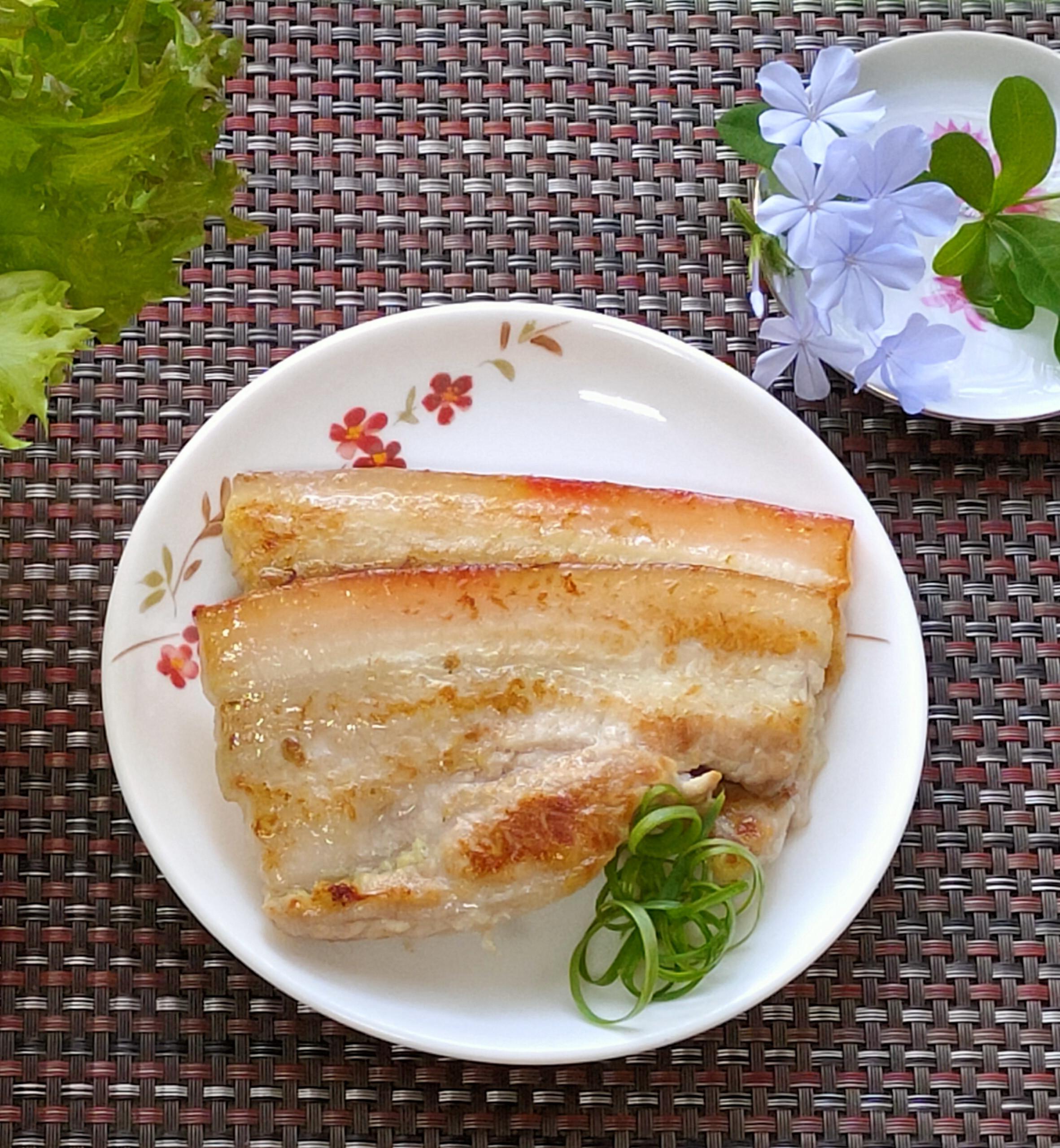 日式芥末烤豬五花