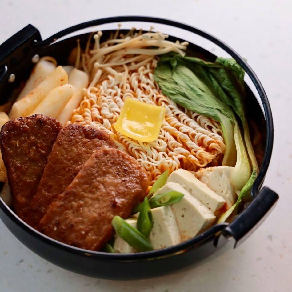 新餐肉韓式部隊鍋